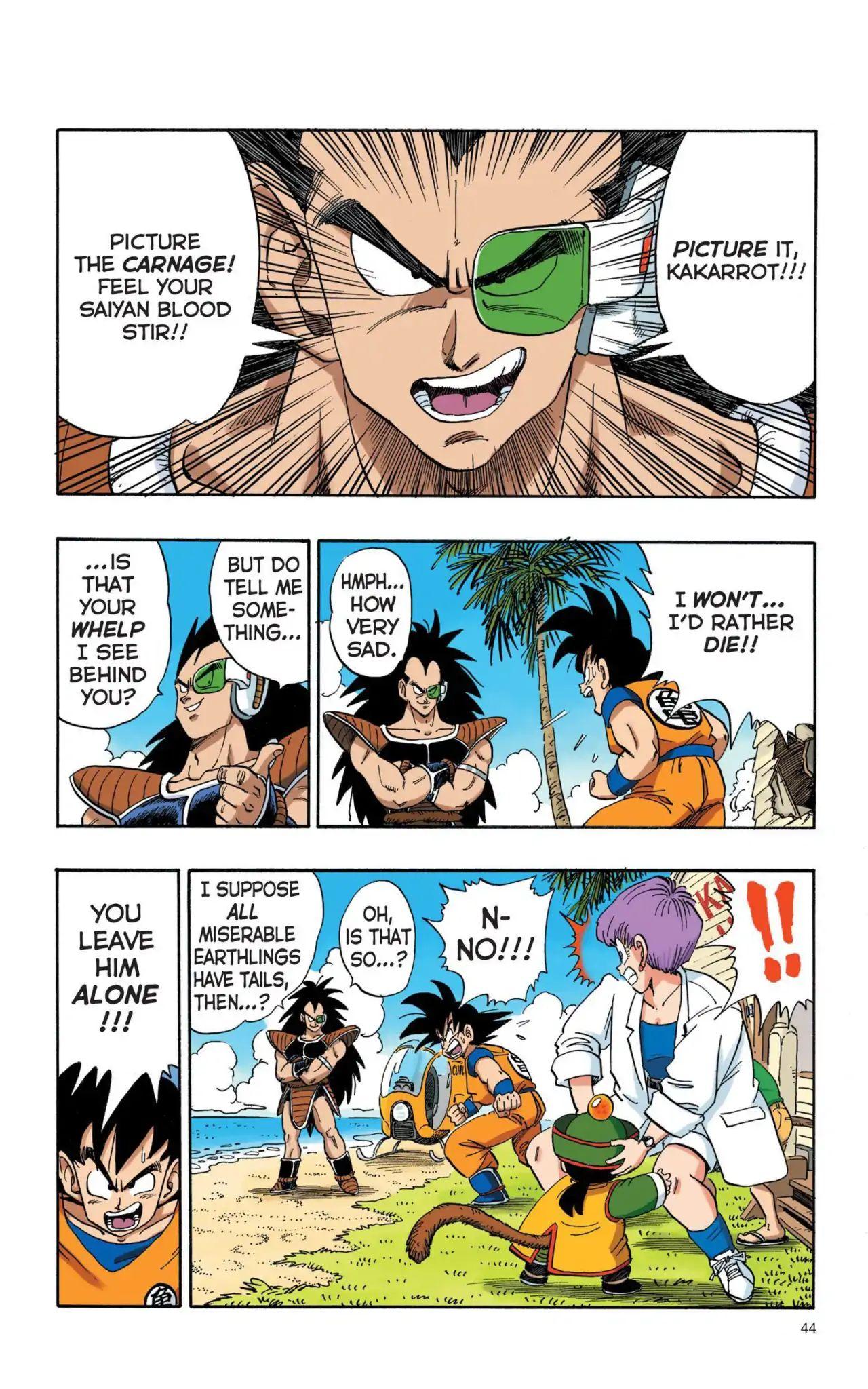 Dragon Ball Full Color Saiyan Arc Chapter 3  Online Free Manga Read Image 11