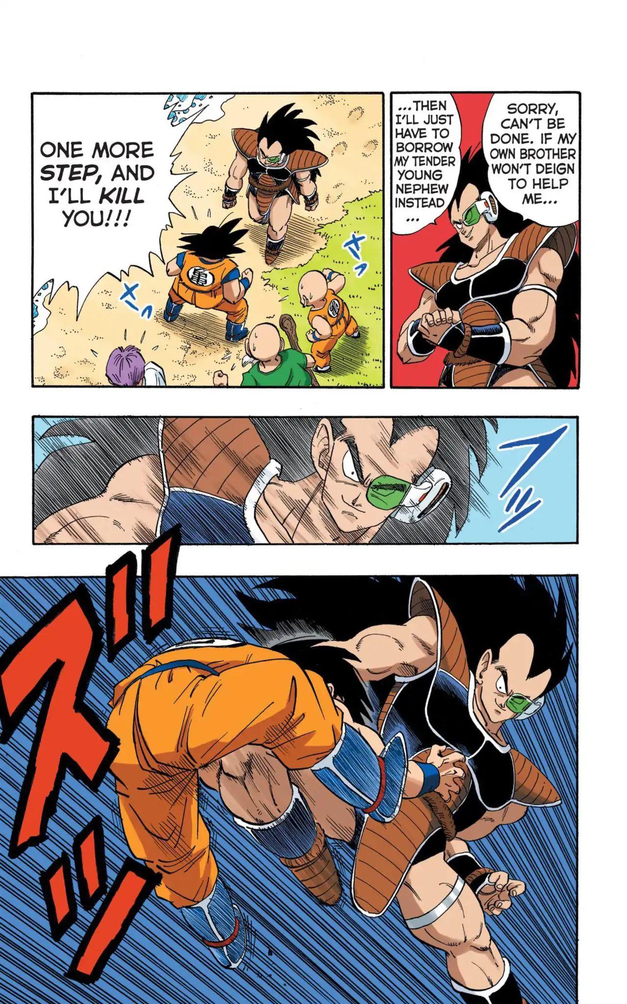 Dragon Ball Full Color Saiyan Arc Chapter 3  Online Free Manga Read Image 12