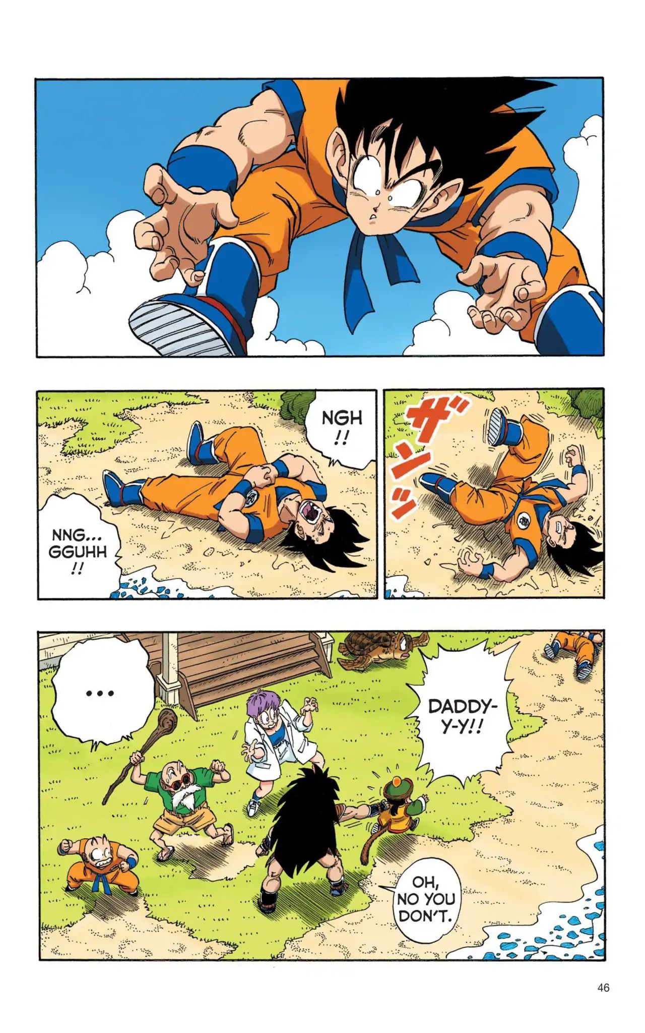 Dragon Ball Full Color Saiyan Arc Chapter 3  Online Free Manga Read Image 13