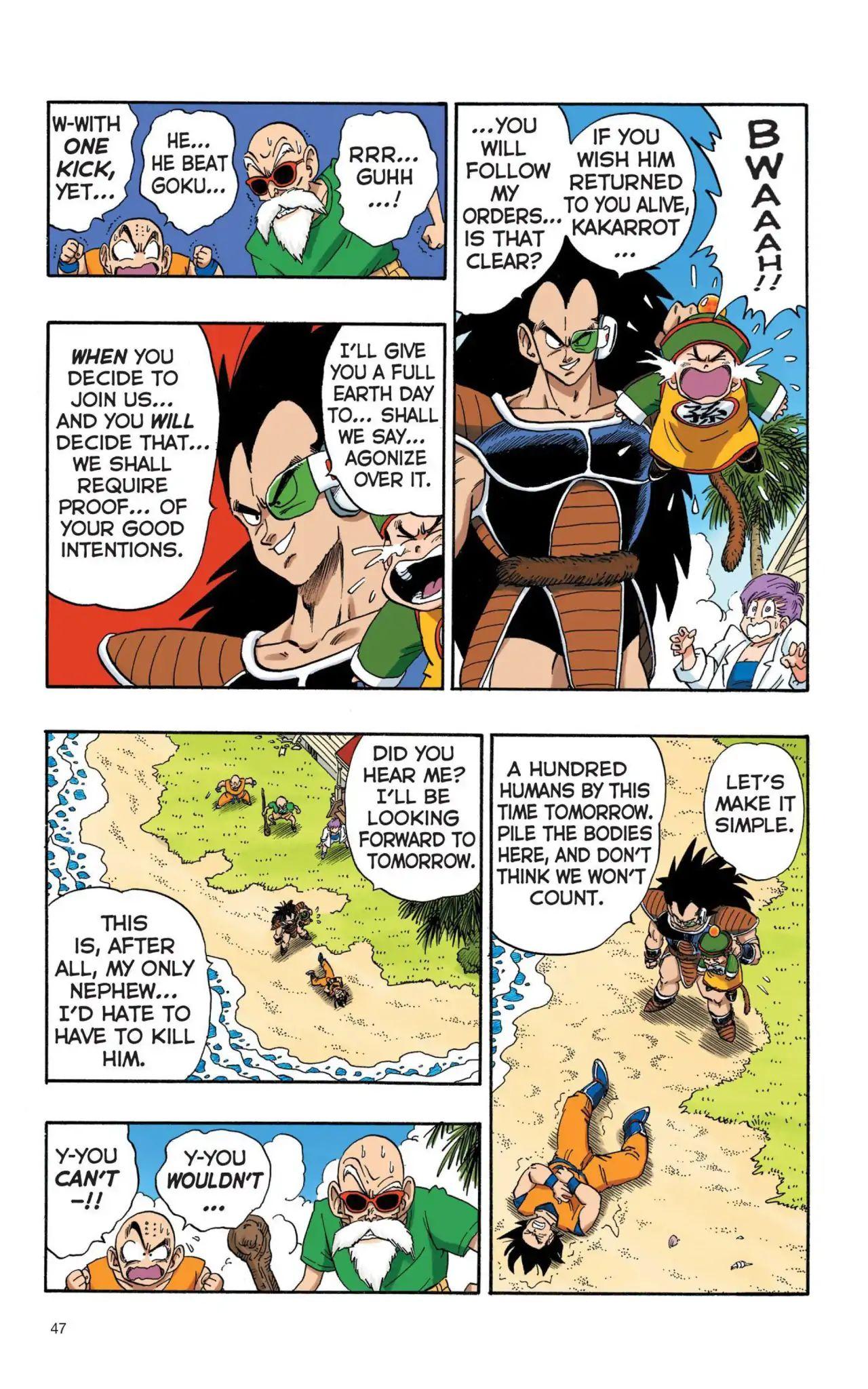 Dragon Ball Full Color Saiyan Arc Chapter 3  Online Free Manga Read Image 14