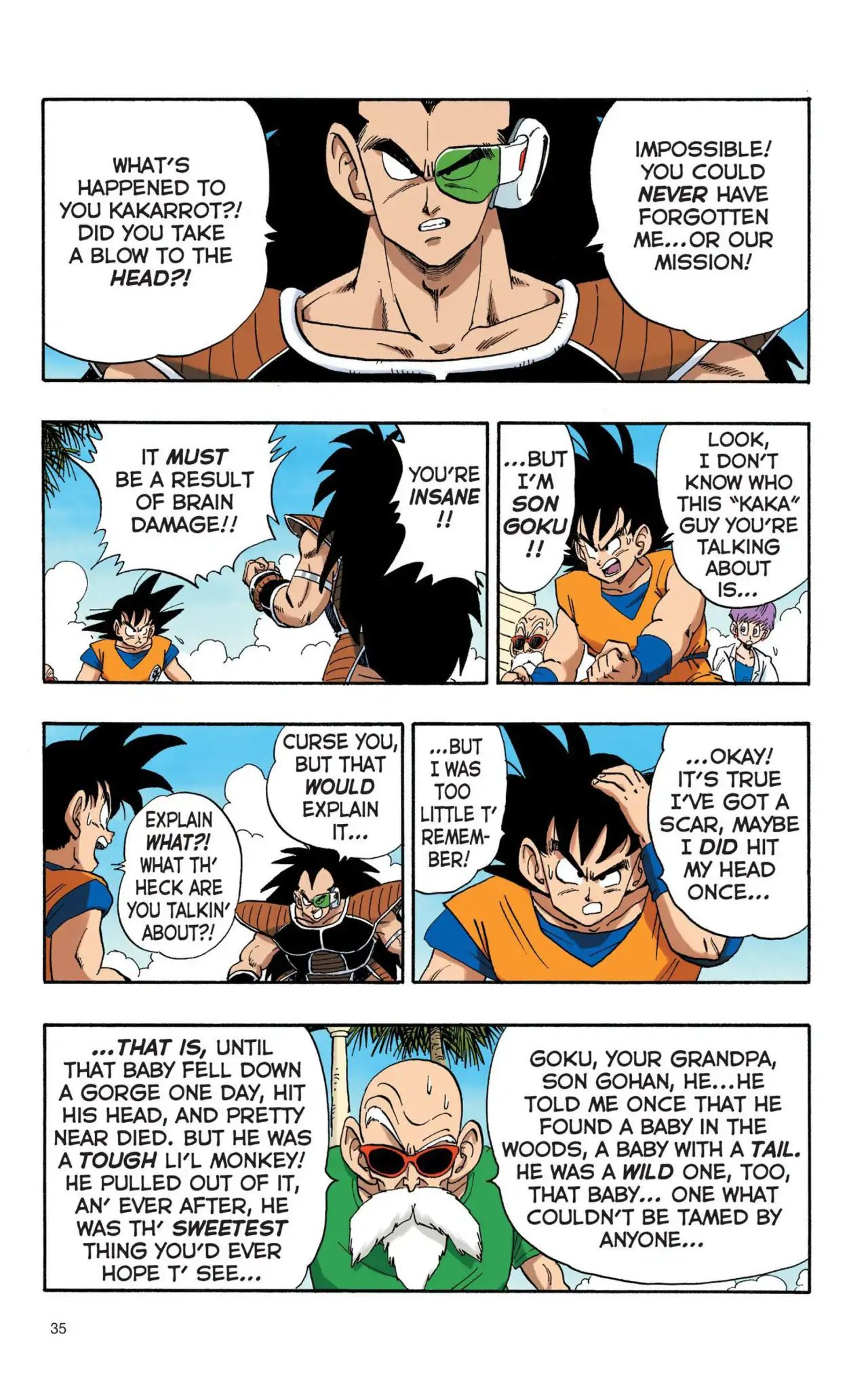 Dragon Ball Full Color Saiyan Arc Chapter 3  Online Free Manga Read Image 2