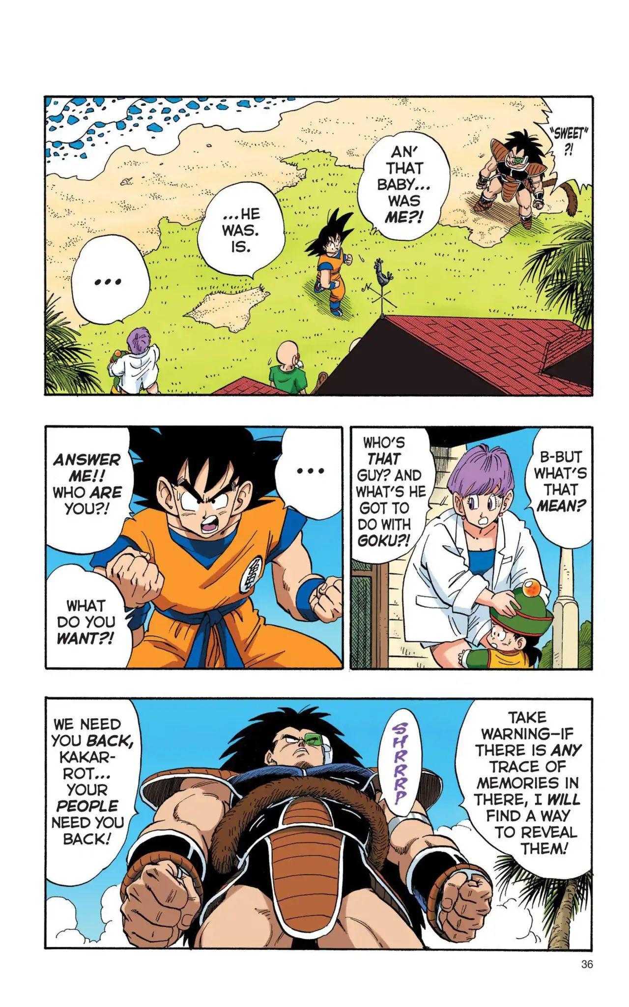 Dragon Ball Full Color Saiyan Arc Chapter 3  Online Free Manga Read Image 3