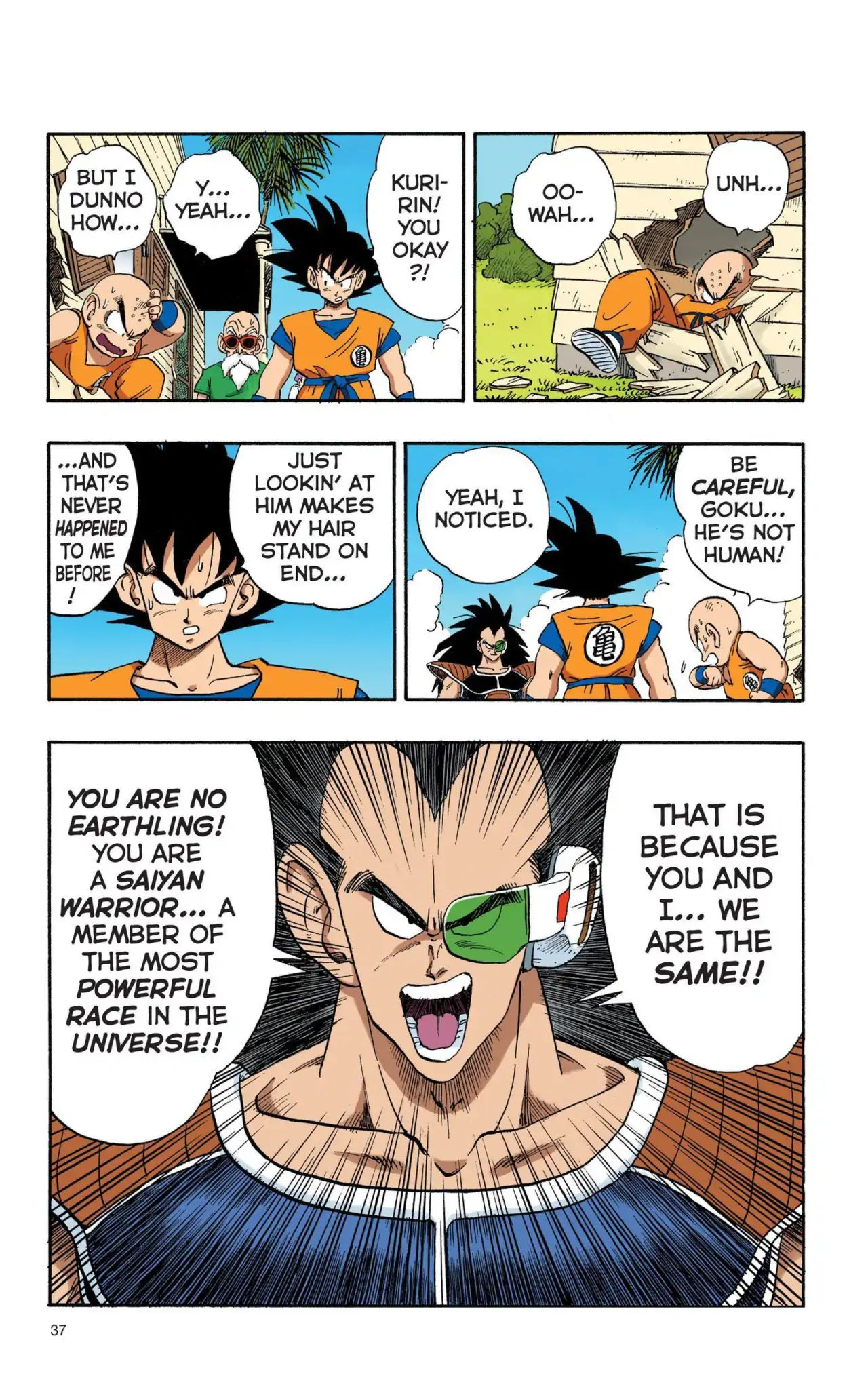 Dragon Ball Full Color Saiyan Arc Chapter 3  Online Free Manga Read Image 4