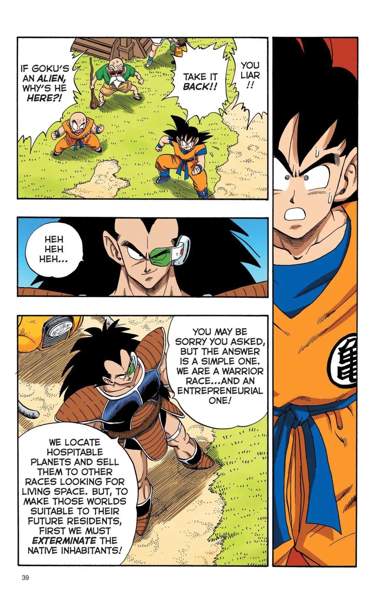 Dragon Ball Full Color Saiyan Arc Chapter 3  Online Free Manga Read Image 6