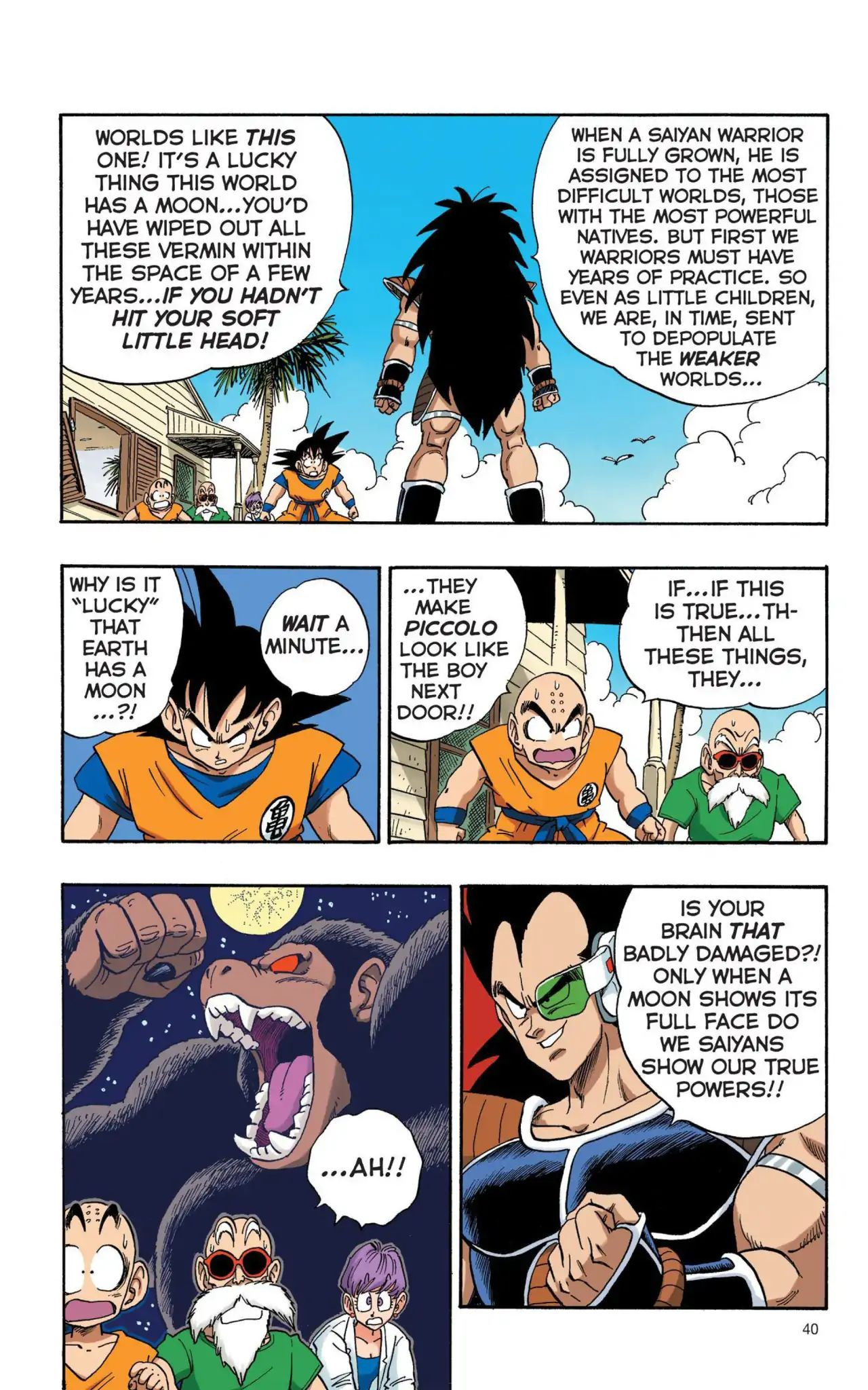 Dragon Ball Full Color Saiyan Arc Chapter 3  Online Free Manga Read Image 7
