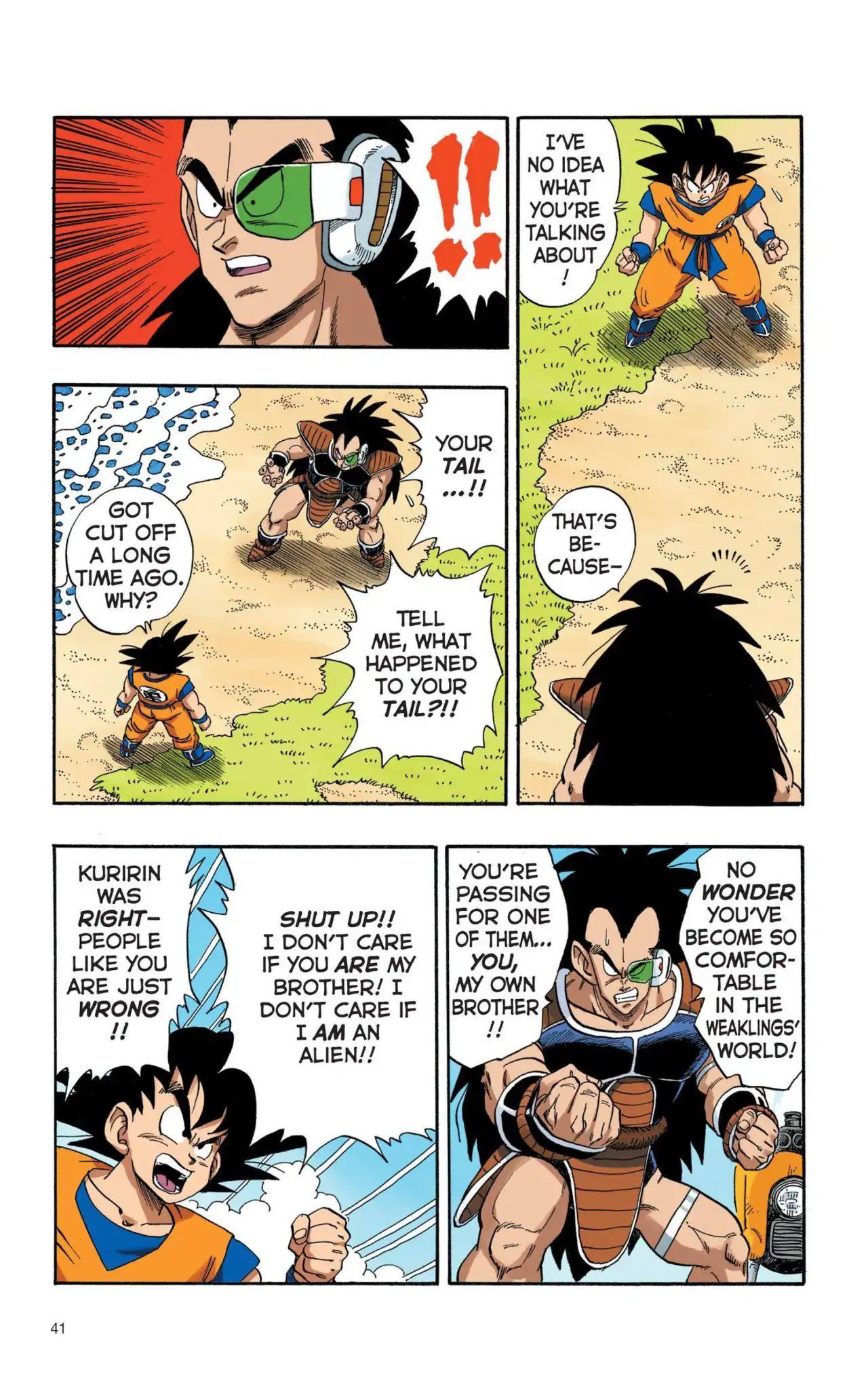 Dragon Ball Full Color Saiyan Arc Chapter 3  Online Free Manga Read Image 8