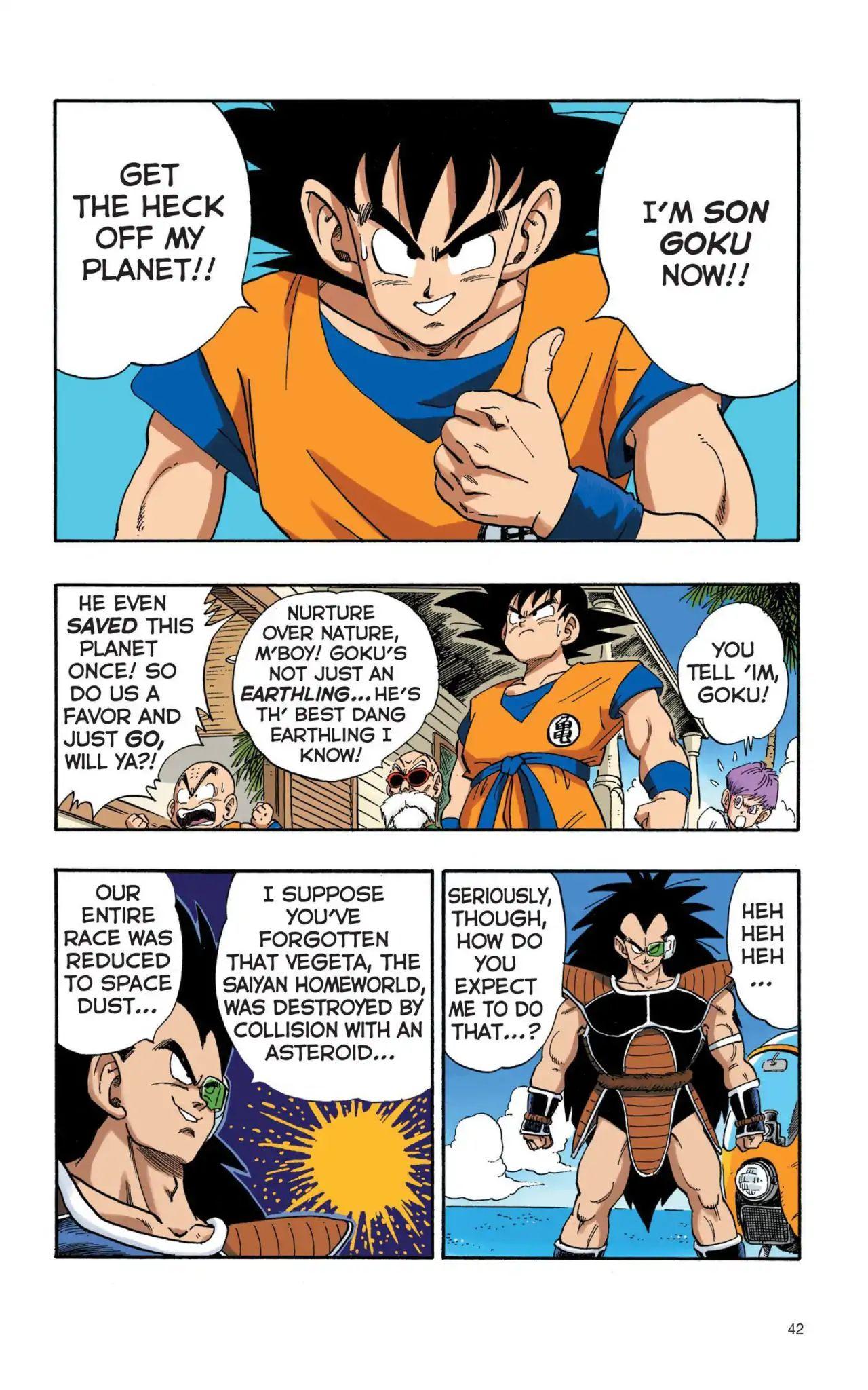 Dragon Ball Full Color Saiyan Arc Chapter 3  Online Free Manga Read Image 9