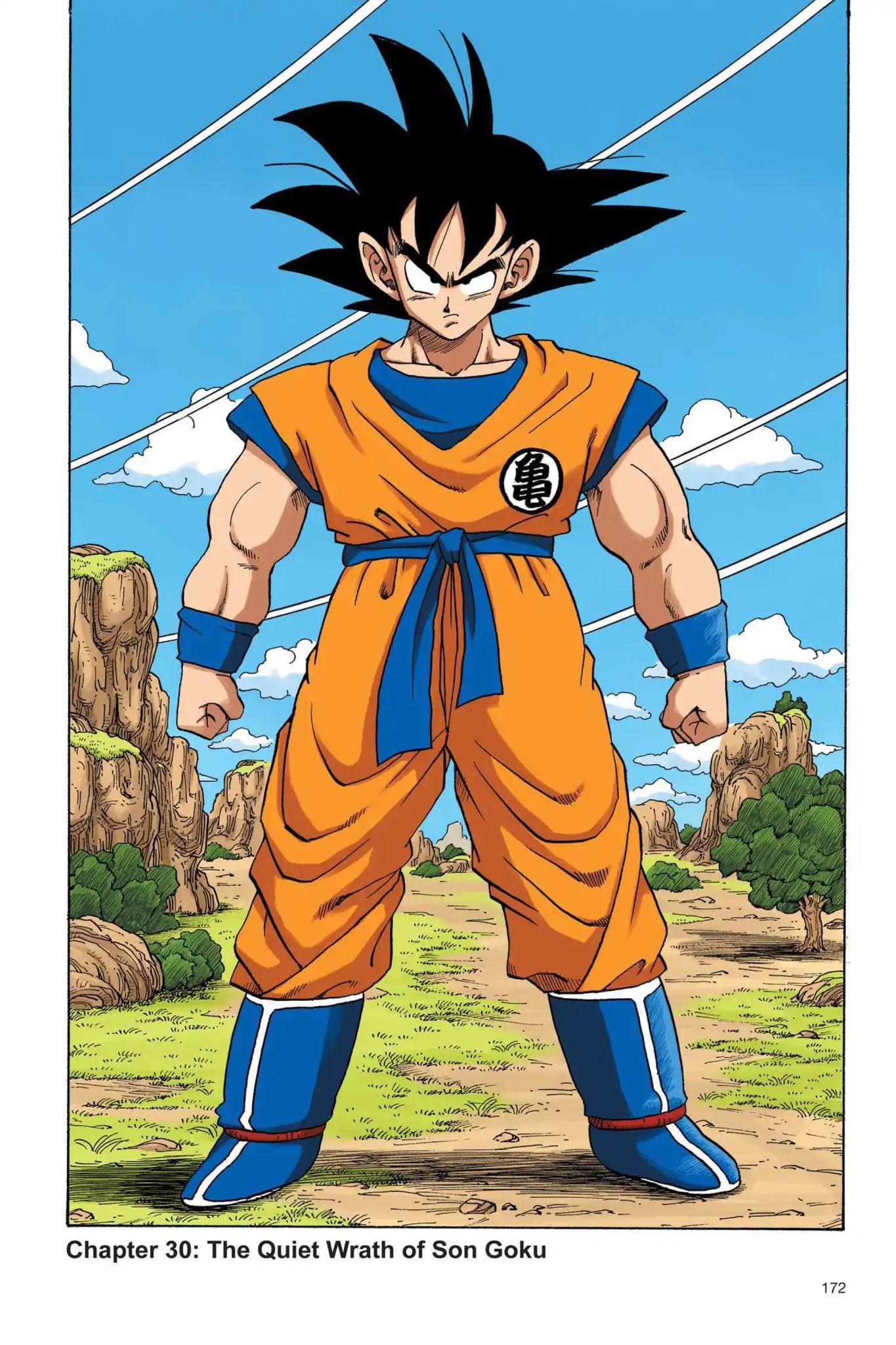 Dragon Ball Full Color Saiyan Arc Chapter 30  Online Free Manga Read Image 1