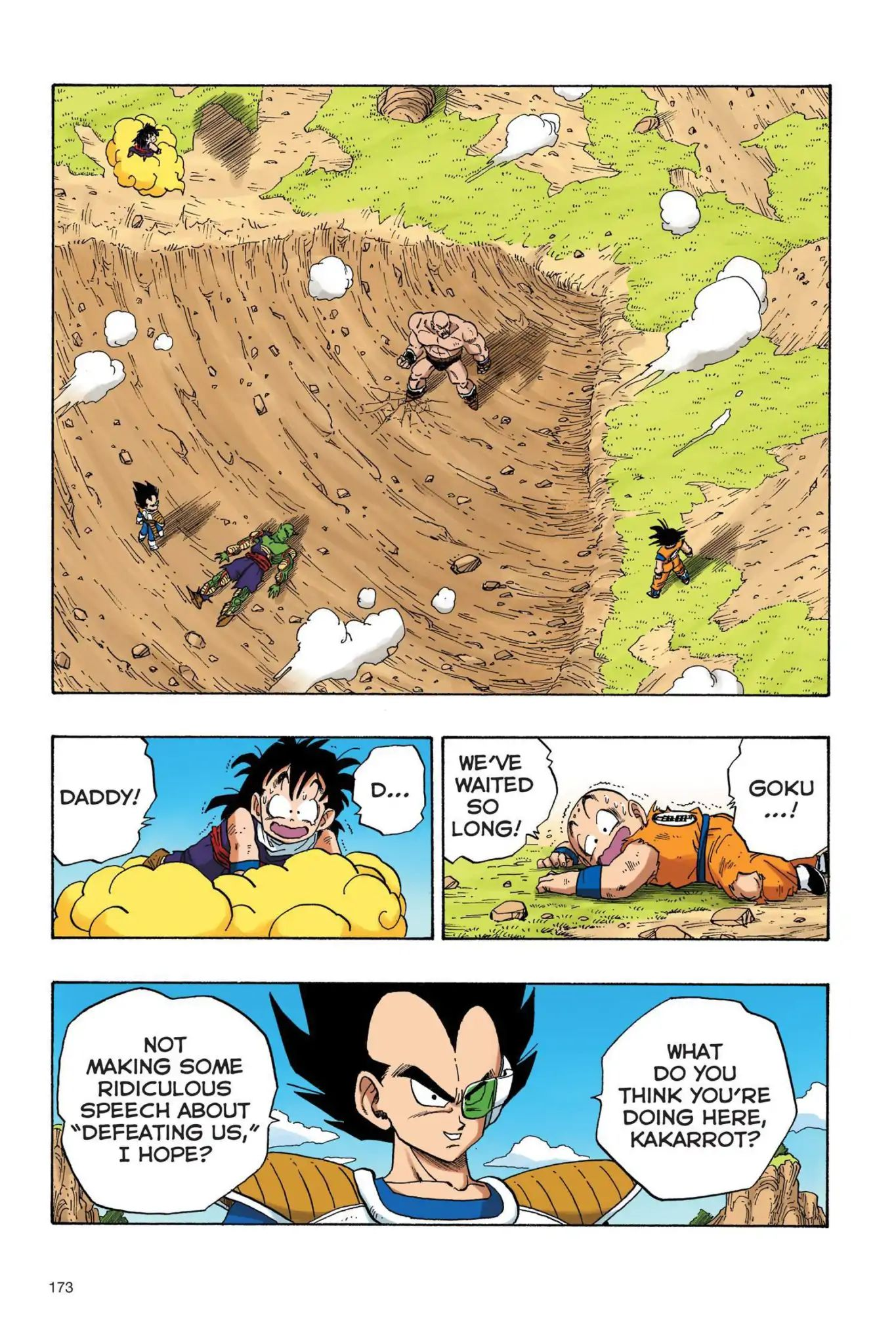 Dragon Ball Full Color Saiyan Arc Chapter 30  Online Free Manga Read Image 2
