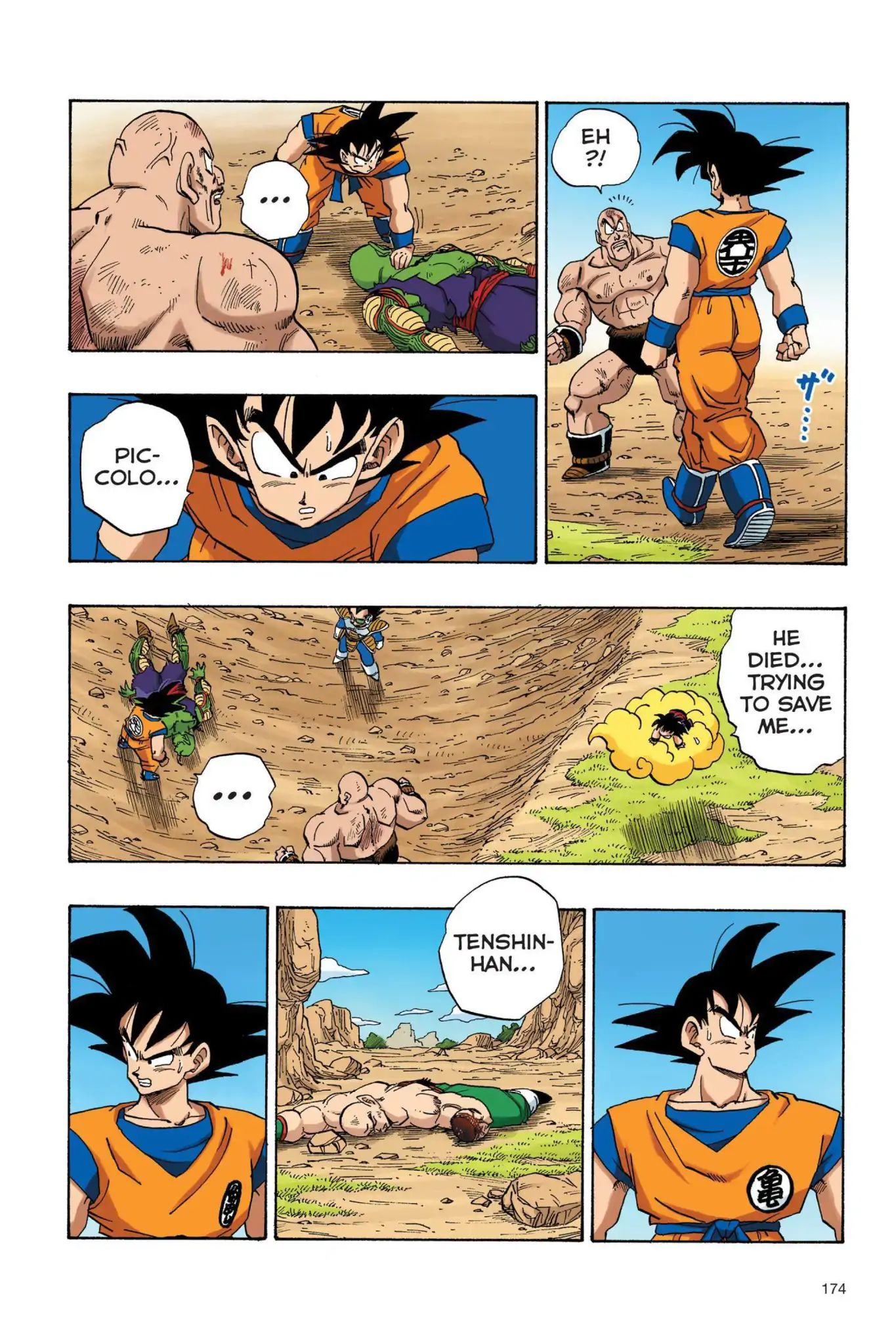 Dragon Ball Full Color Saiyan Arc Chapter 30  Online Free Manga Read Image 3