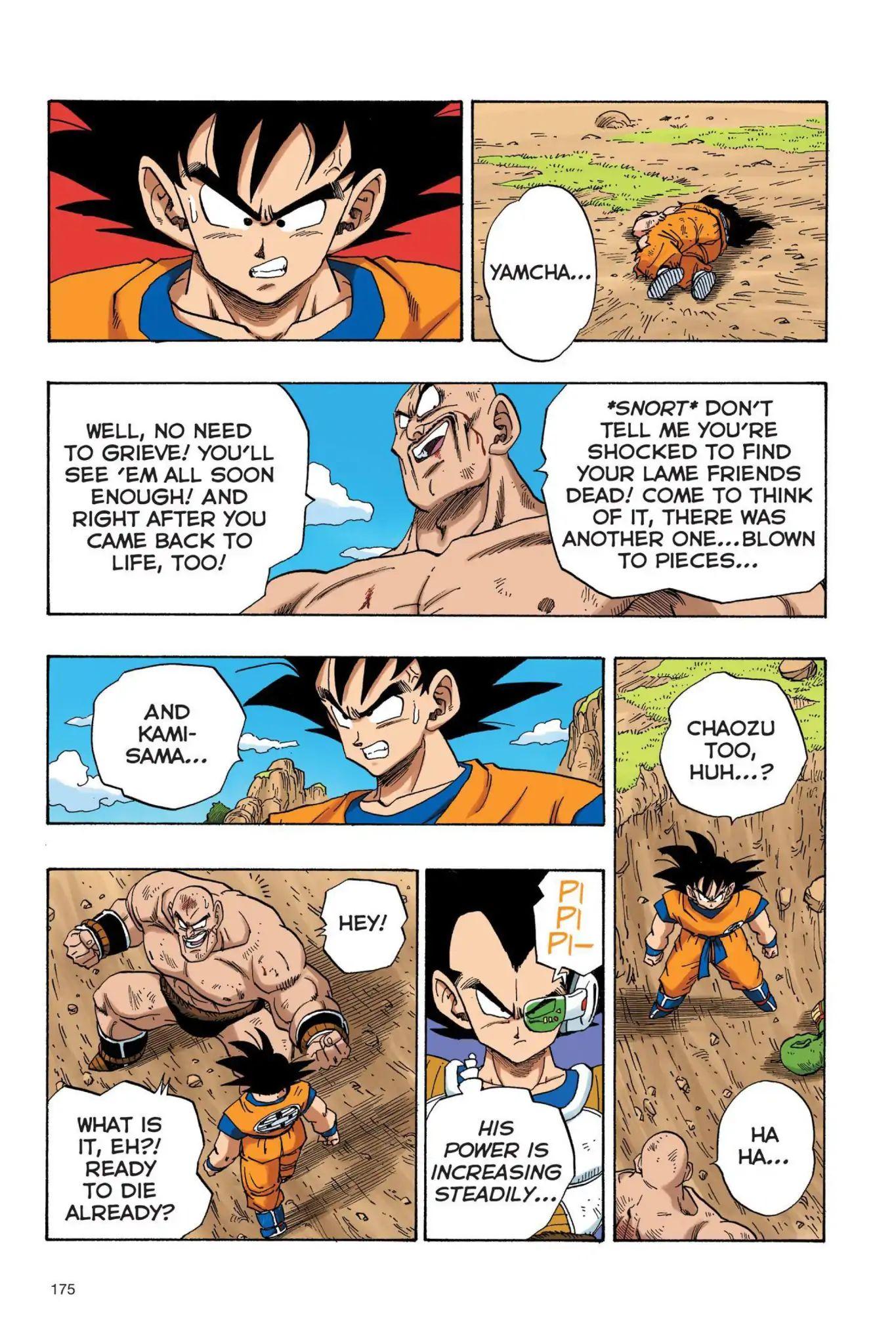 Dragon Ball Full Color Saiyan Arc Chapter 30  Online Free Manga Read Image 4