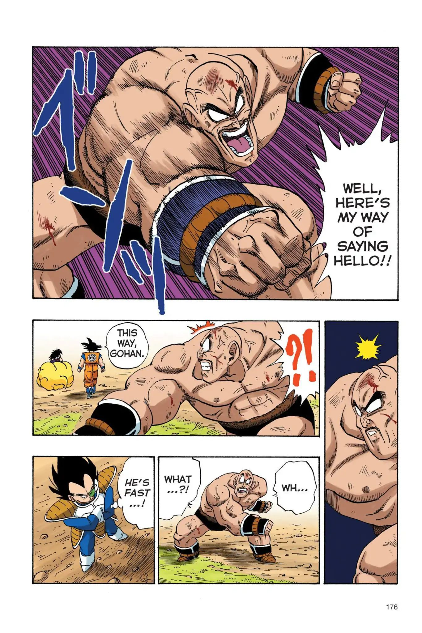 Dragon Ball Full Color Saiyan Arc Chapter 30  Online Free Manga Read Image 5