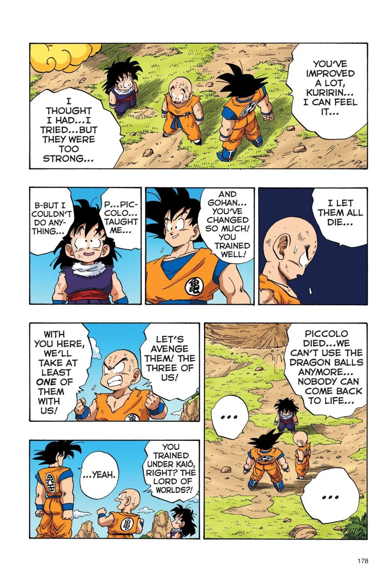 Dragon Ball Full Color Saiyan Arc Chapter 30  Online Free Manga Read Image 7