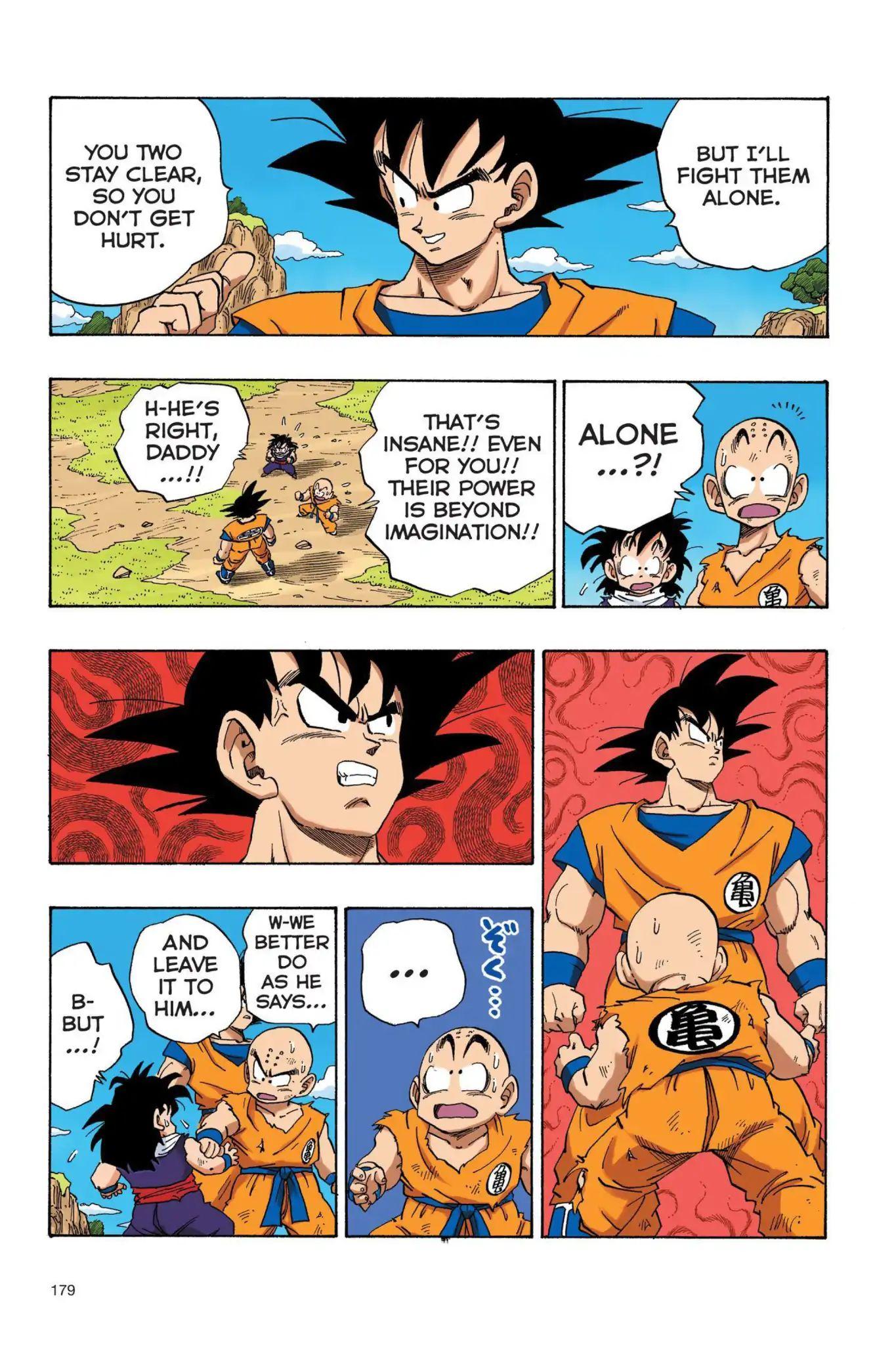 Dragon Ball Full Color Saiyan Arc Chapter 30  Online Free Manga Read Image 8