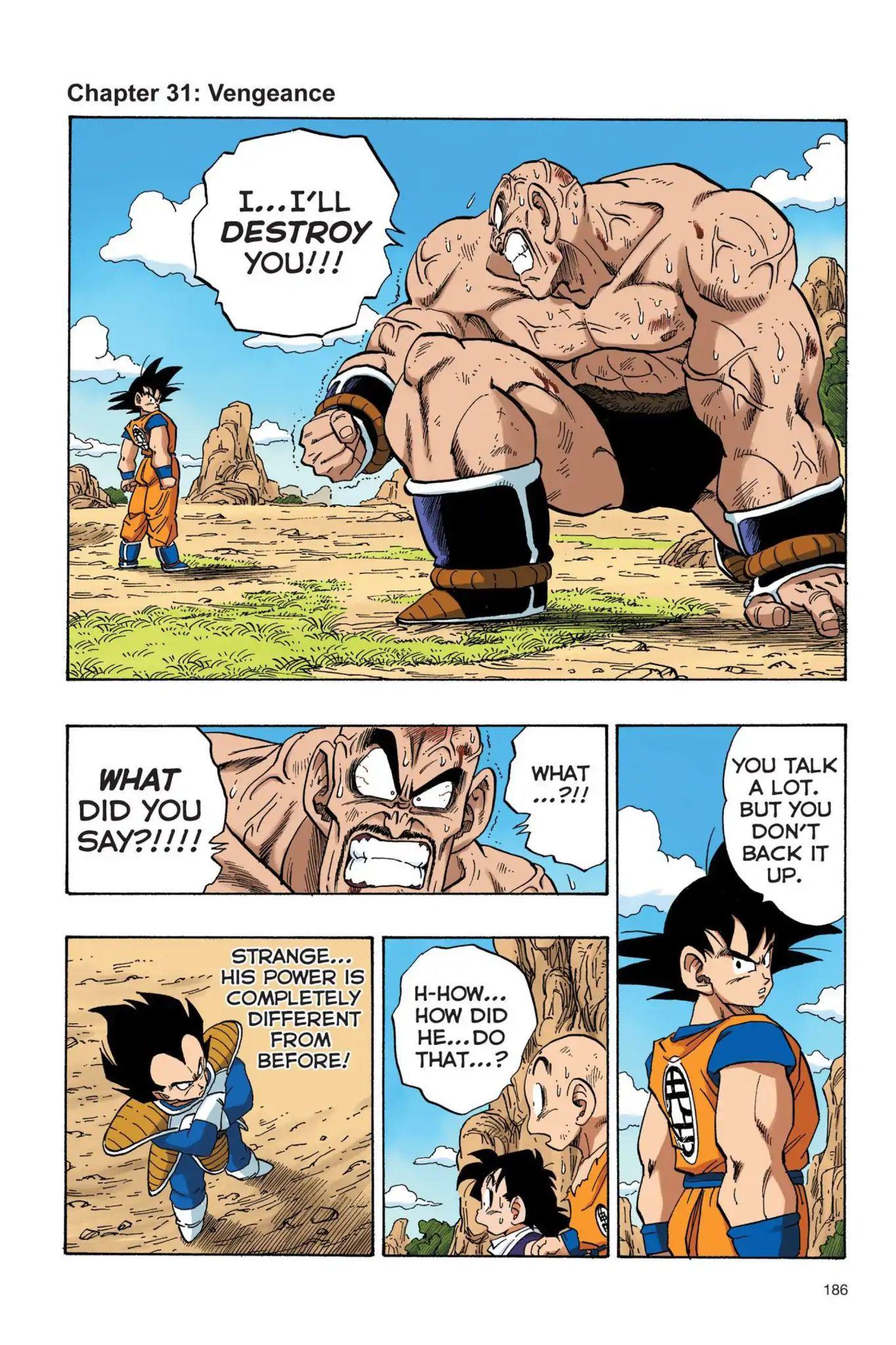 Dragon Ball Full Color Saiyan Arc Chapter 31  Online Free Manga Read Image 1