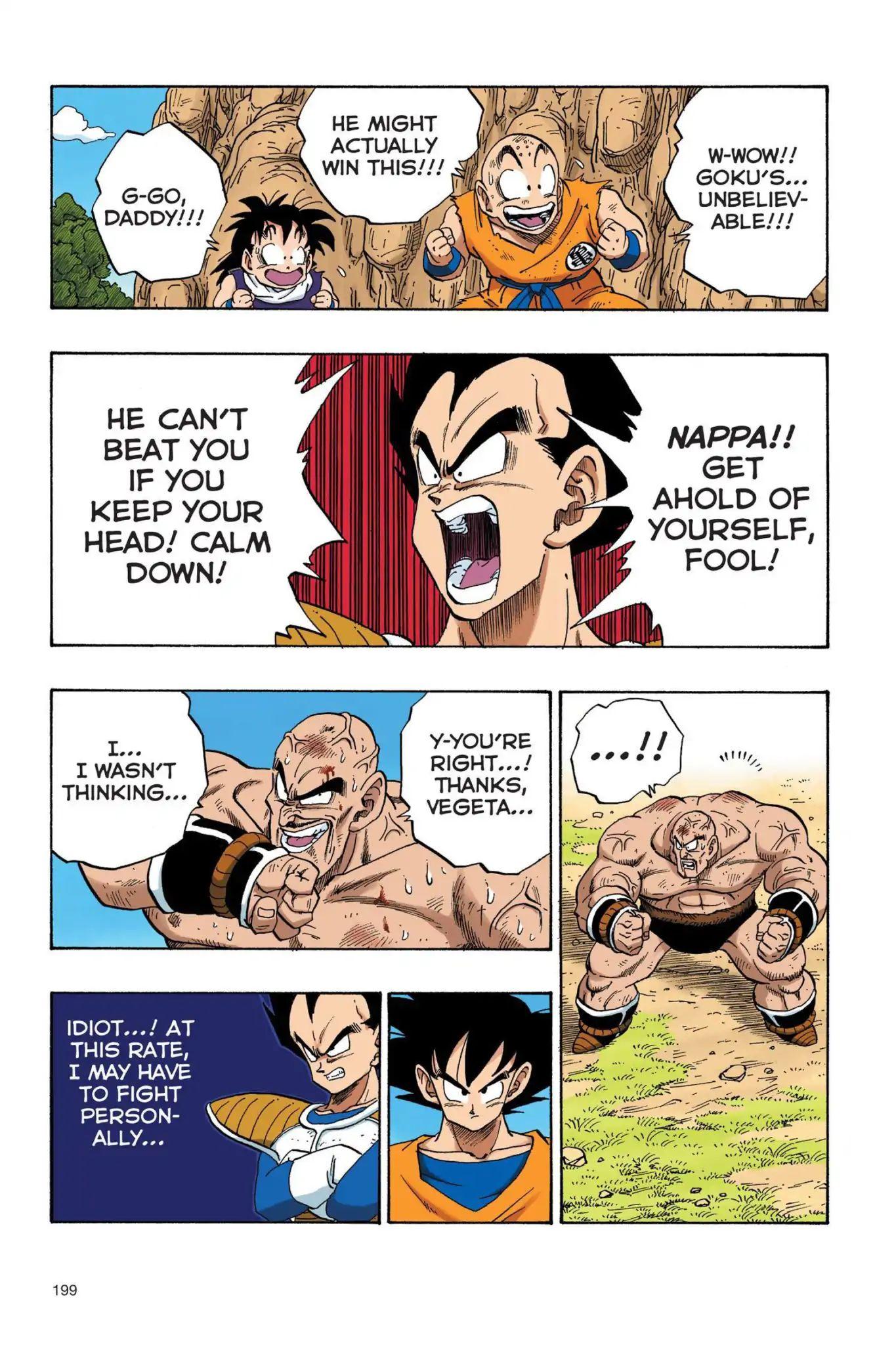 Dragon Ball Full Color Saiyan Arc Chapter 31  Online Free Manga Read Image 14