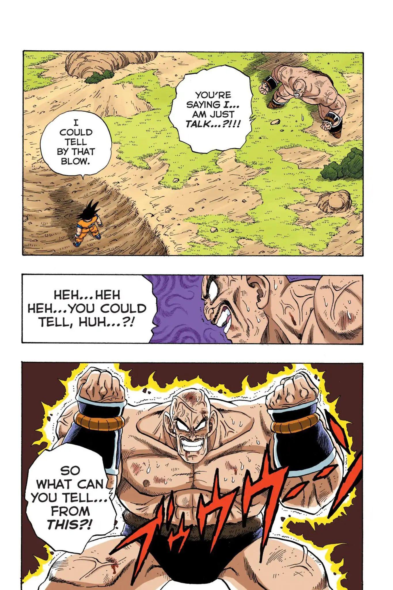 Dragon Ball Full Color Saiyan Arc Chapter 31  Online Free Manga Read Image 2