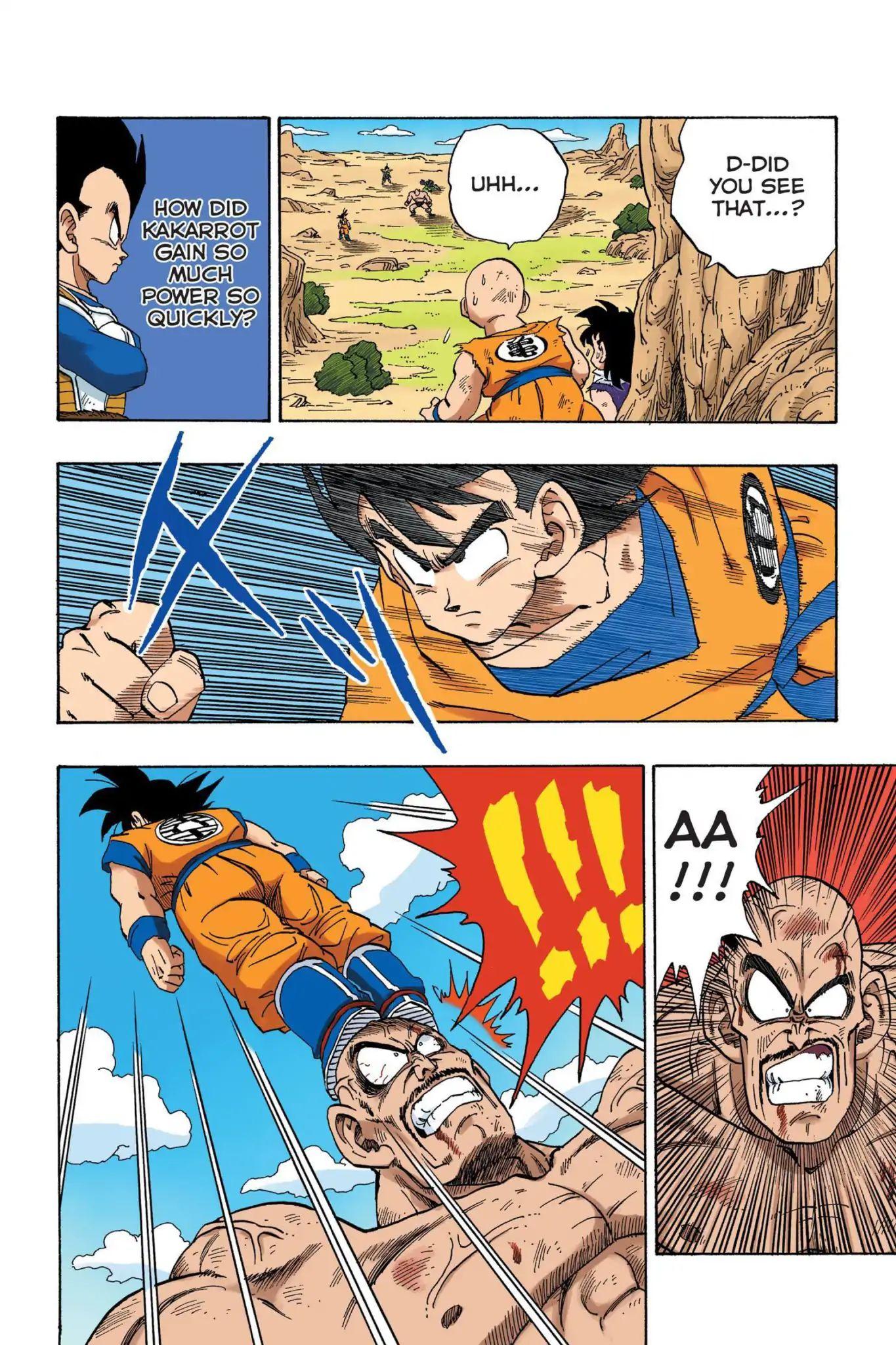 Dragon Ball Full Color Saiyan Arc Chapter 31  Online Free Manga Read Image 5