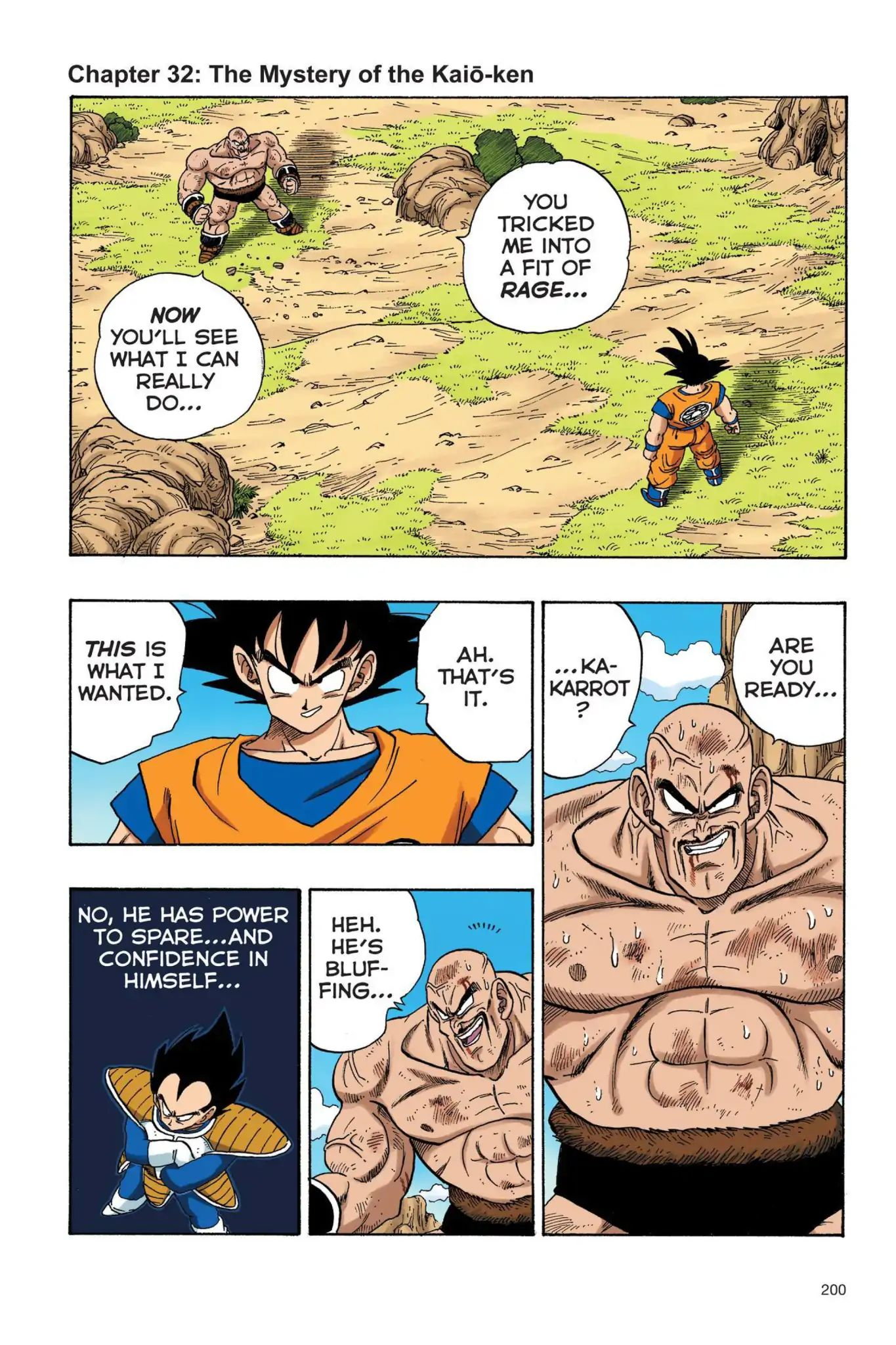 Dragon Ball Full Color Saiyan Arc Chapter 32  Online Free Manga Read Image 1