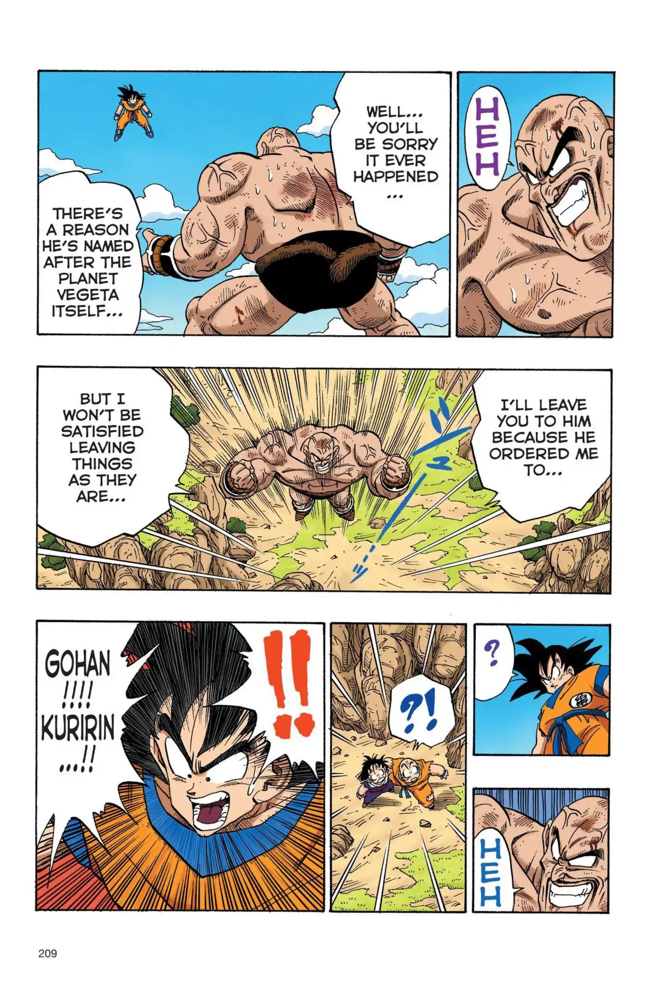 Dragon Ball Full Color Saiyan Arc Chapter 32  Online Free Manga Read Image 10
