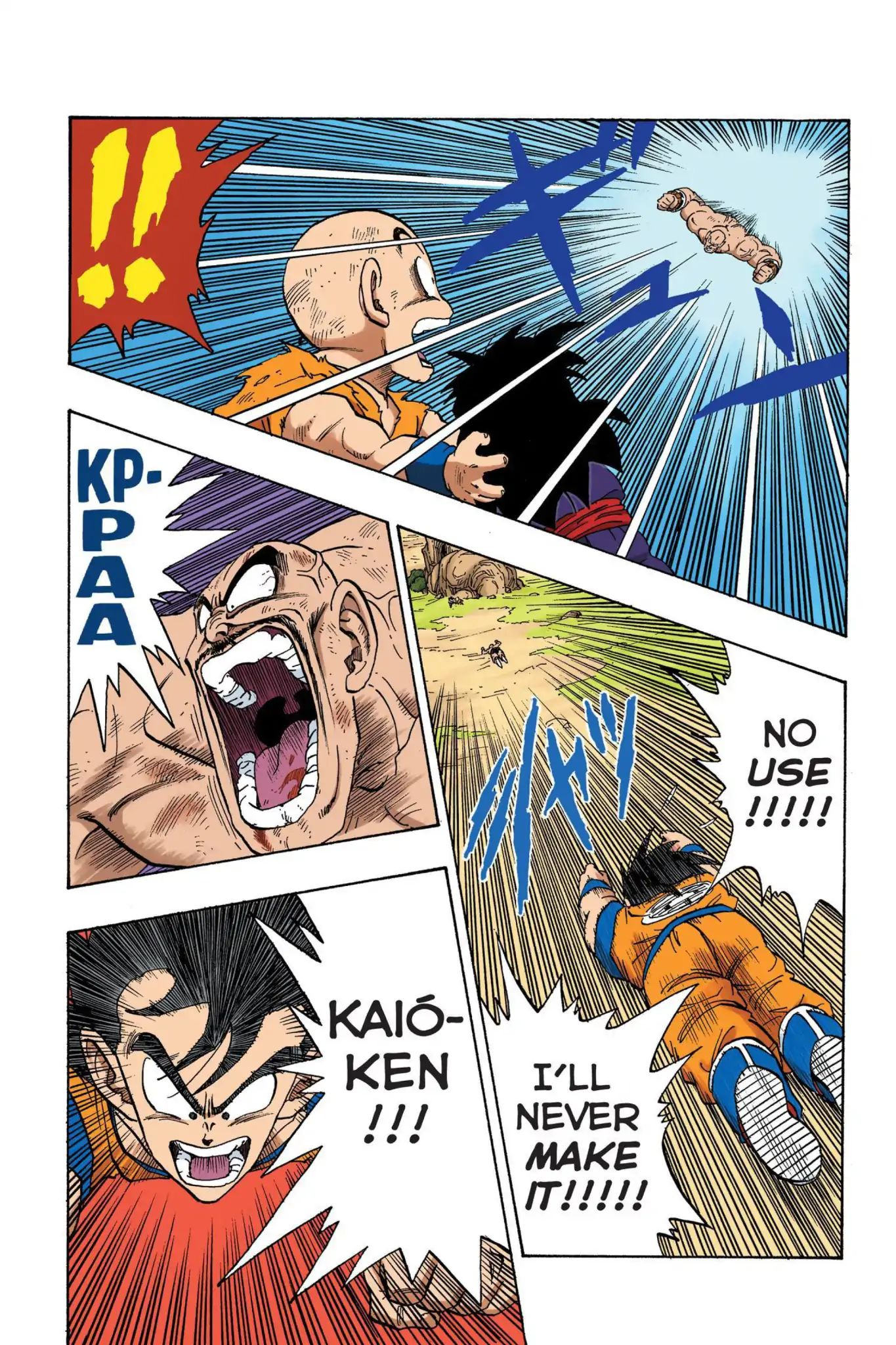 Dragon Ball Full Color Saiyan Arc Chapter 32  Online Free Manga Read Image 11