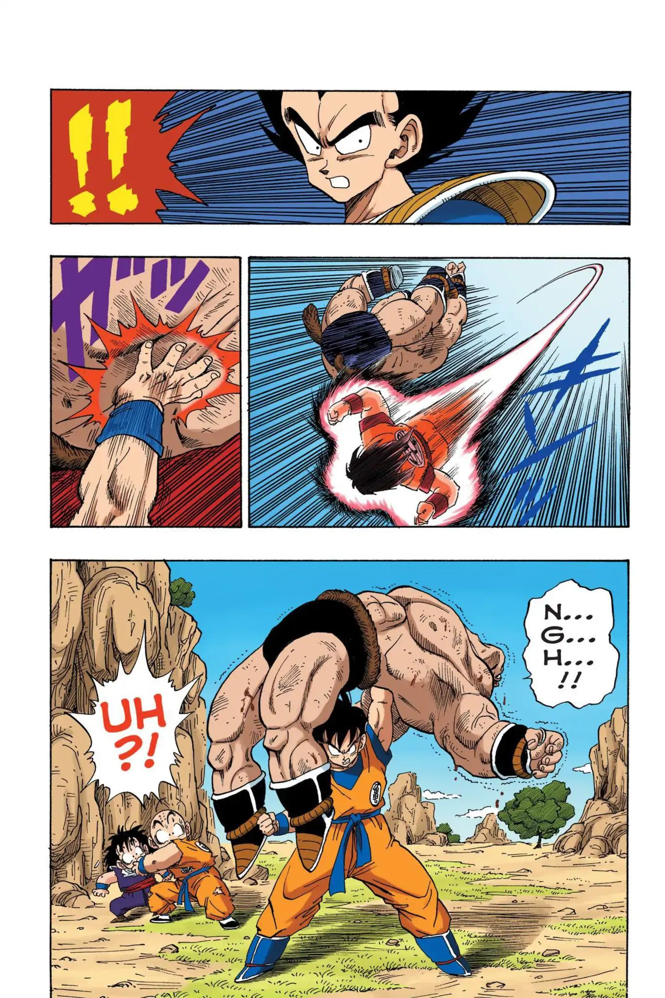 Dragon Ball Full Color Saiyan Arc Chapter 32  Online Free Manga Read Image 13