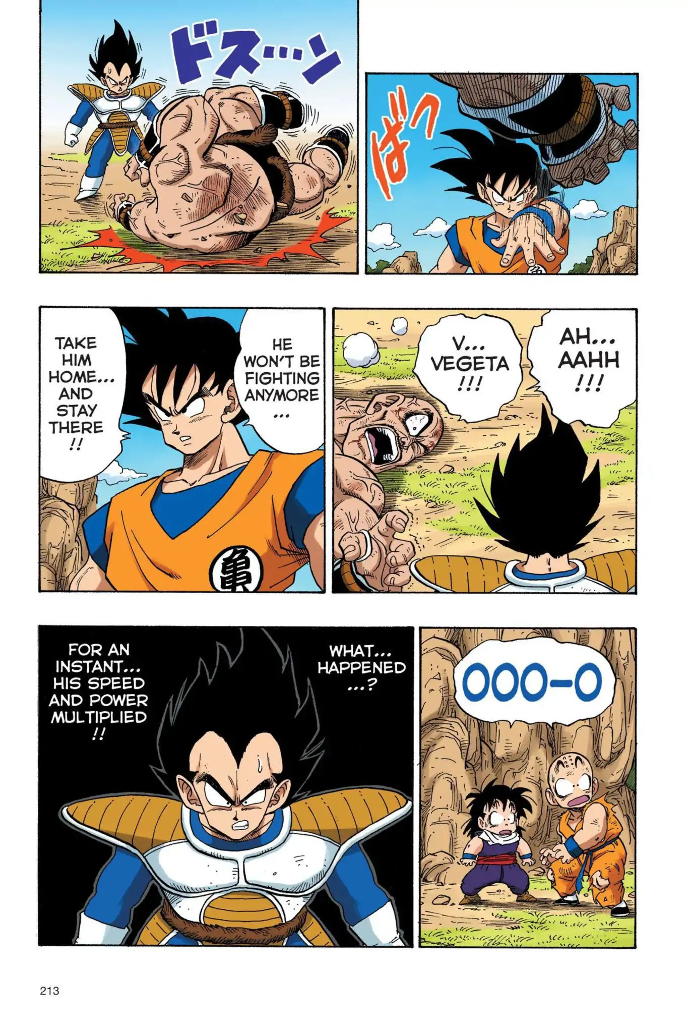 Dragon Ball Full Color Saiyan Arc Chapter 32  Online Free Manga Read Image 14