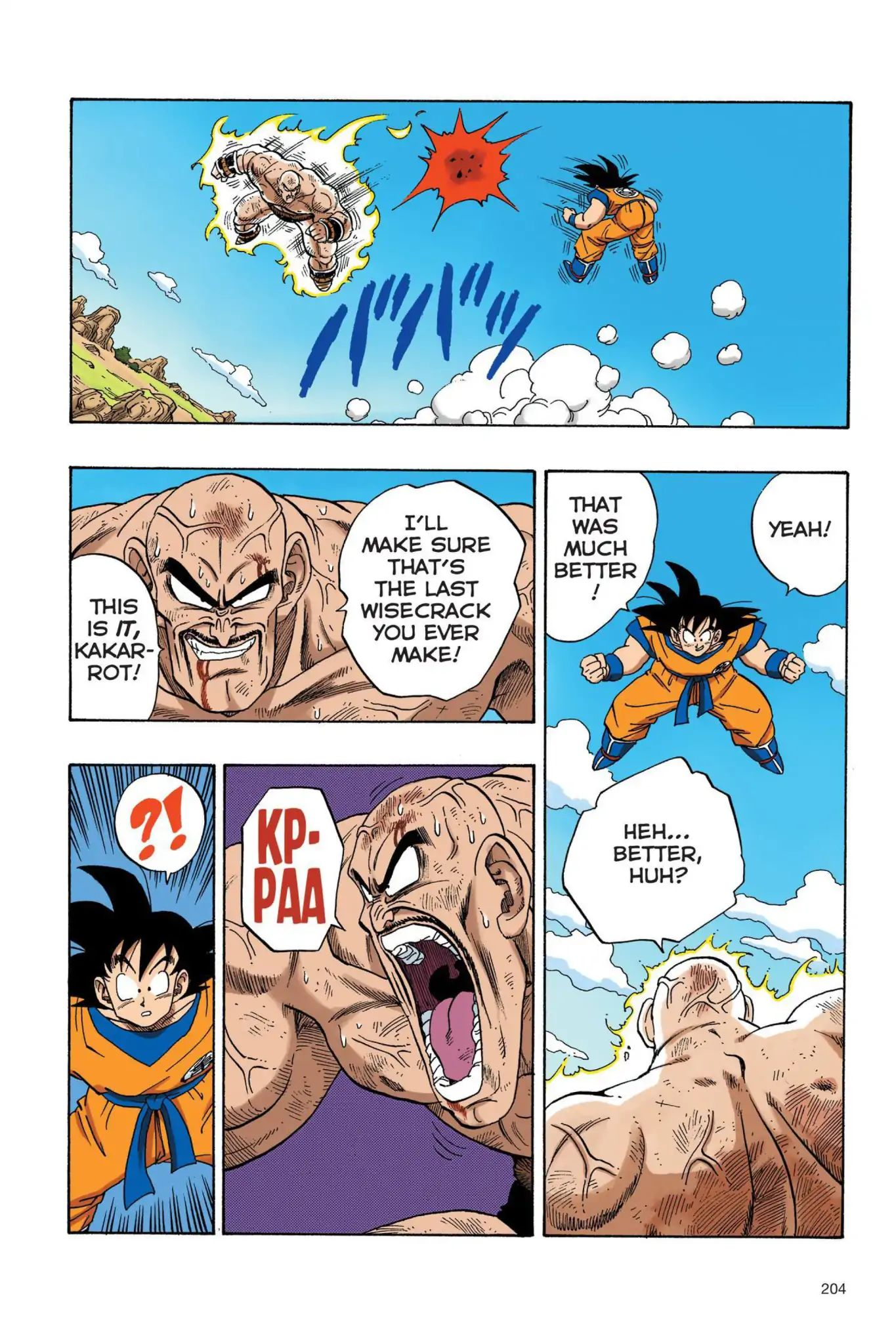 Dragon Ball Full Color Saiyan Arc Chapter 32  Online Free Manga Read Image 5