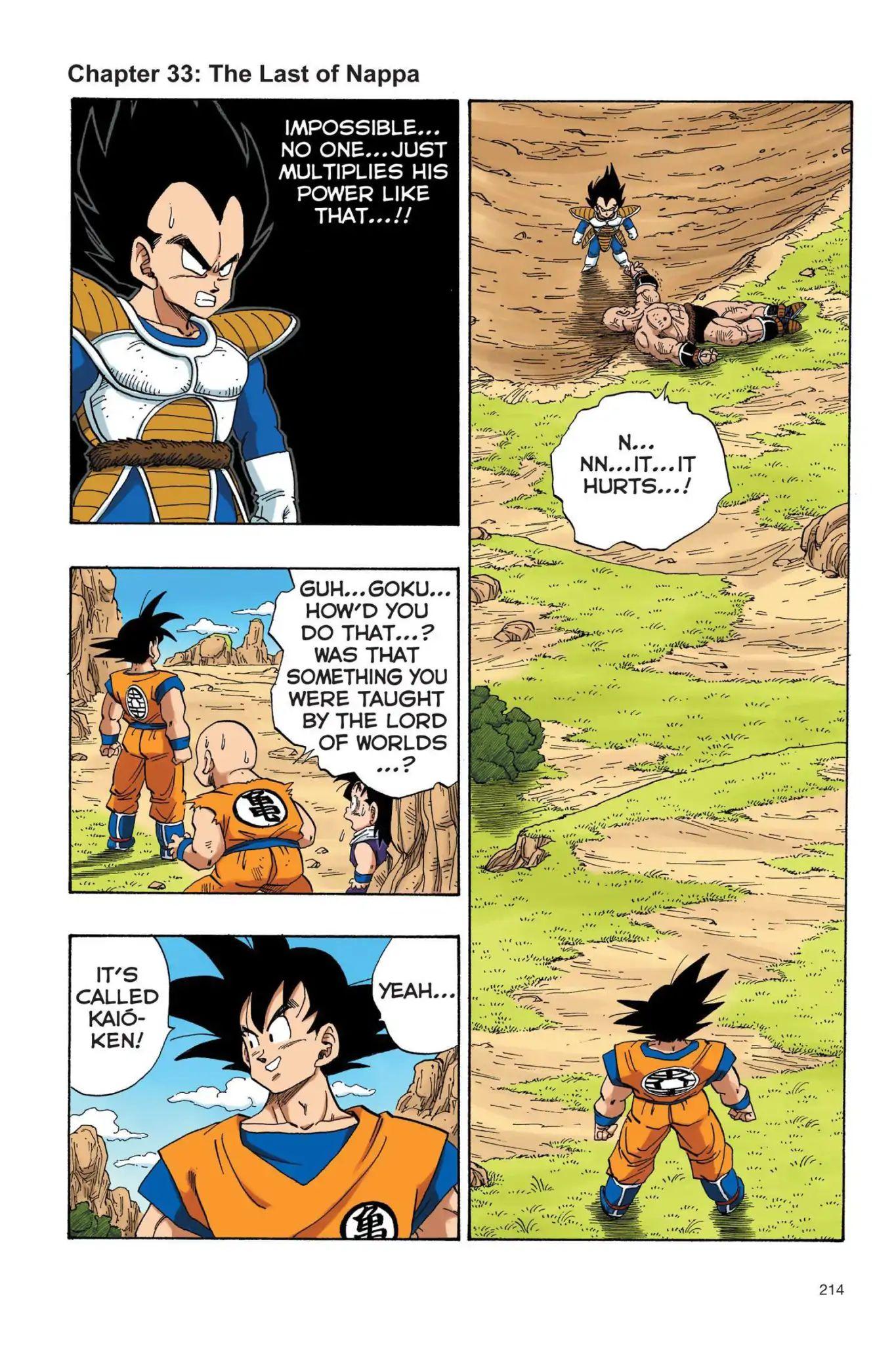 Dragon Ball Full Color Saiyan Arc Chapter 33  Online Free Manga Read Image 1