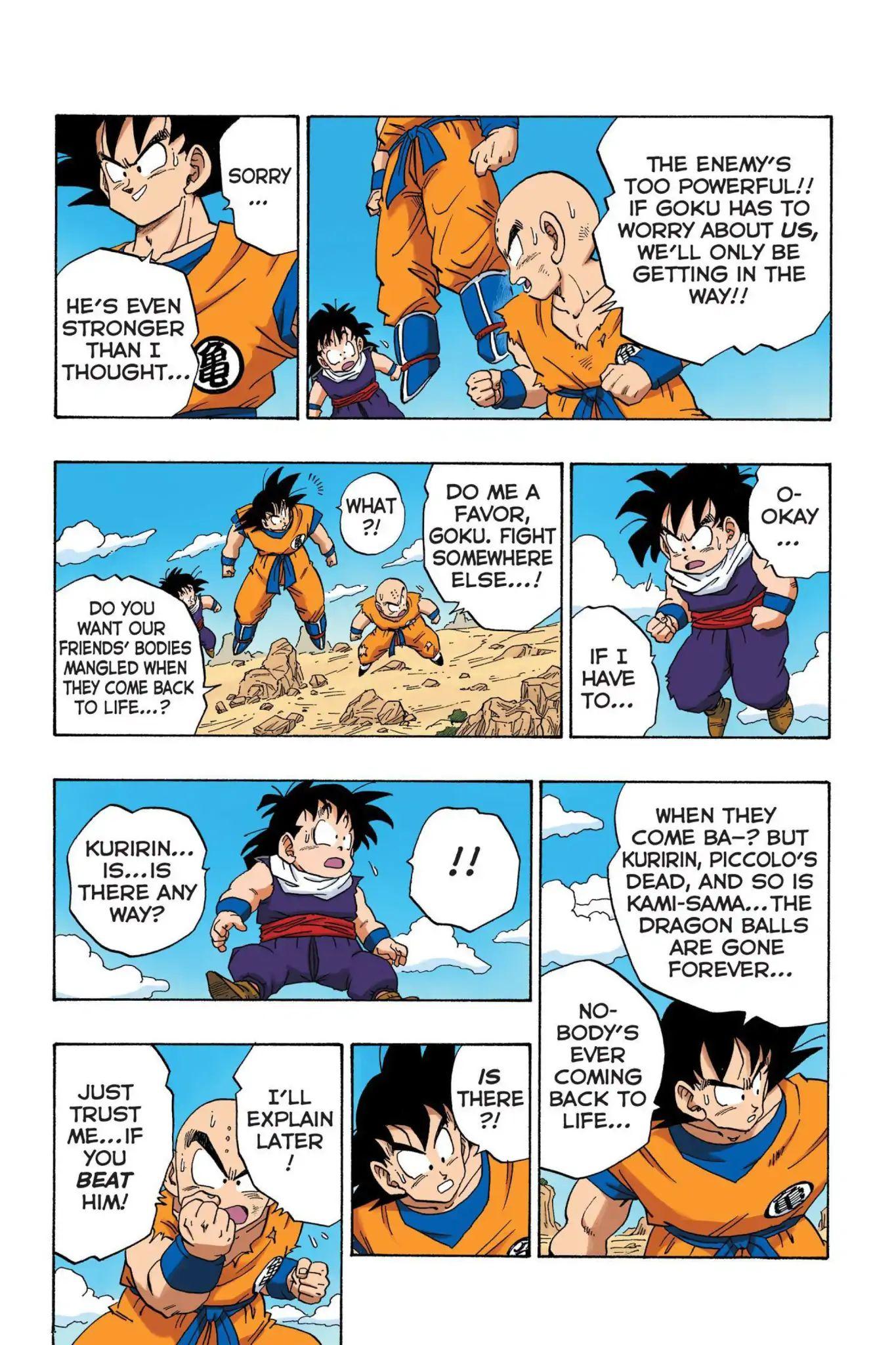 Dragon Ball Full Color Saiyan Arc Chapter 33  Online Free Manga Read Image 10