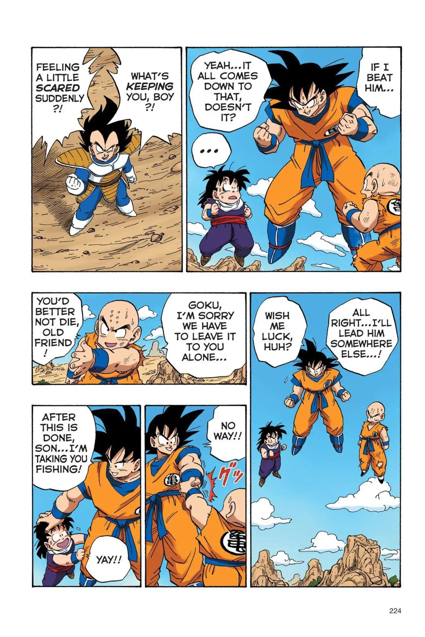 Dragon Ball Full Color Saiyan Arc Chapter 33  Online Free Manga Read Image 11