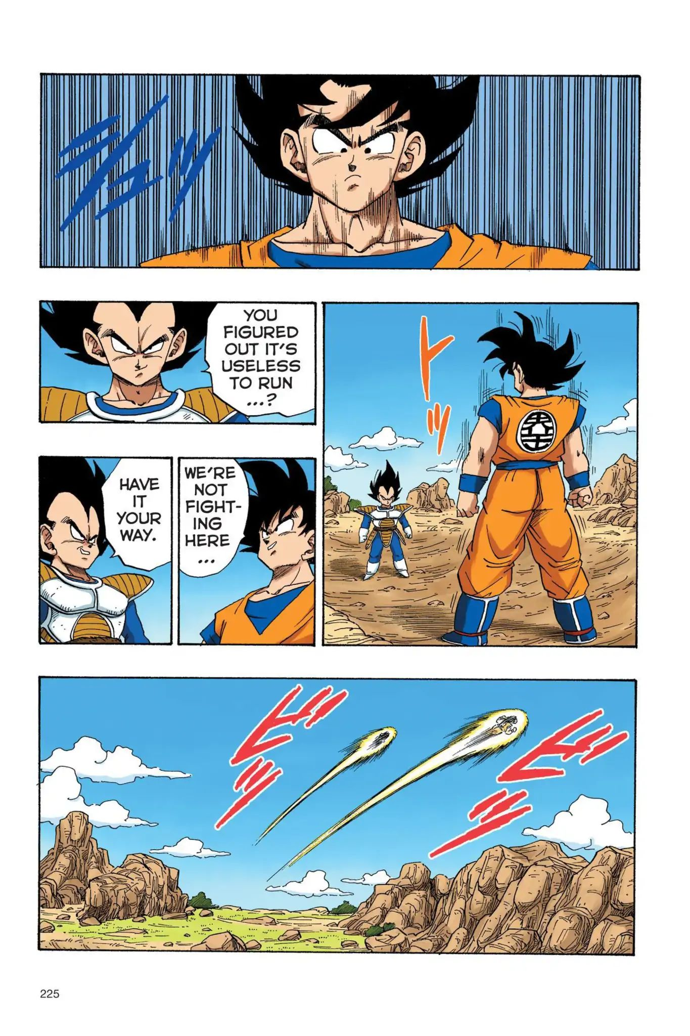 Dragon Ball Full Color Saiyan Arc Chapter 33  Online Free Manga Read Image 12