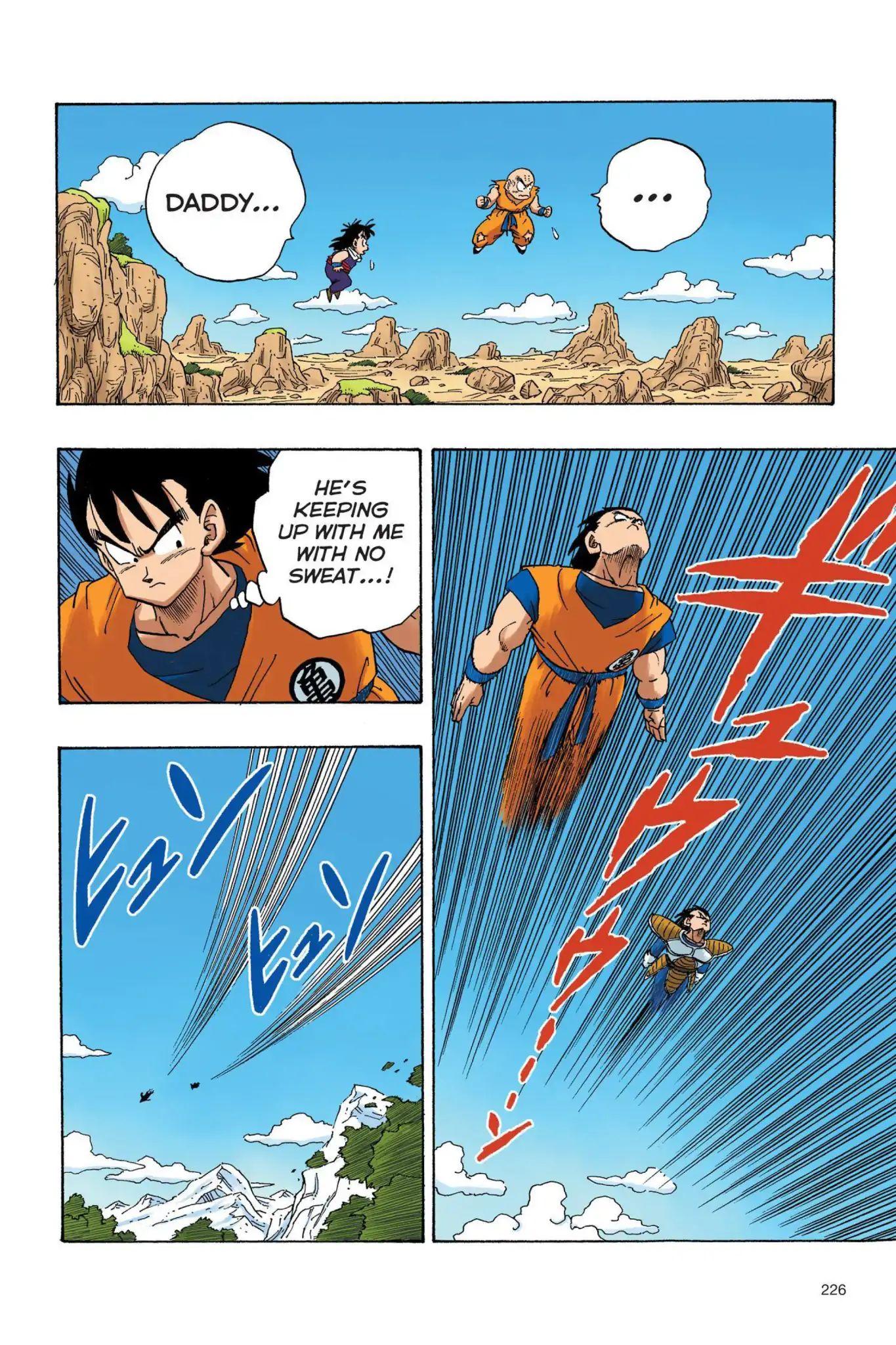 Dragon Ball Full Color Saiyan Arc Chapter 33  Online Free Manga Read Image 13