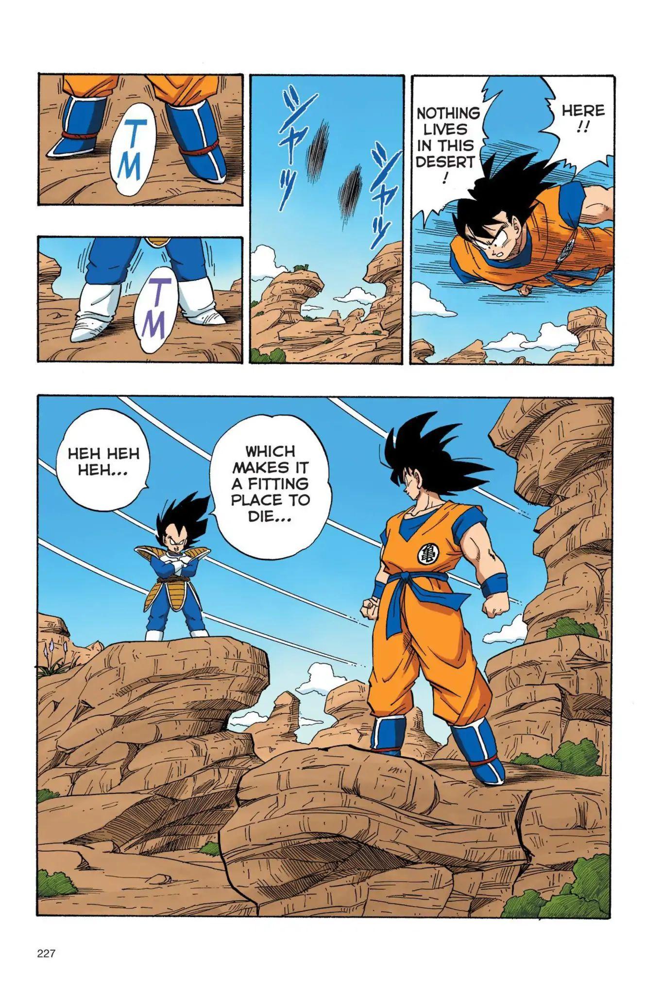 Dragon Ball Full Color Saiyan Arc Chapter 33  Online Free Manga Read Image 14