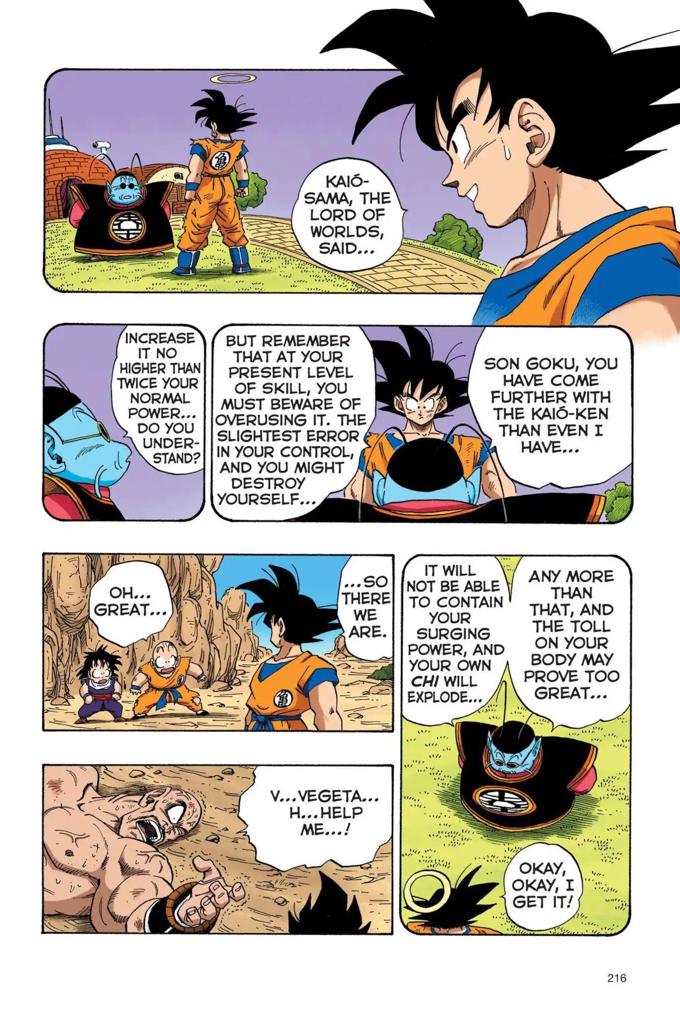 Dragon Ball Full Color Saiyan Arc Chapter 33  Online Free Manga Read Image 3