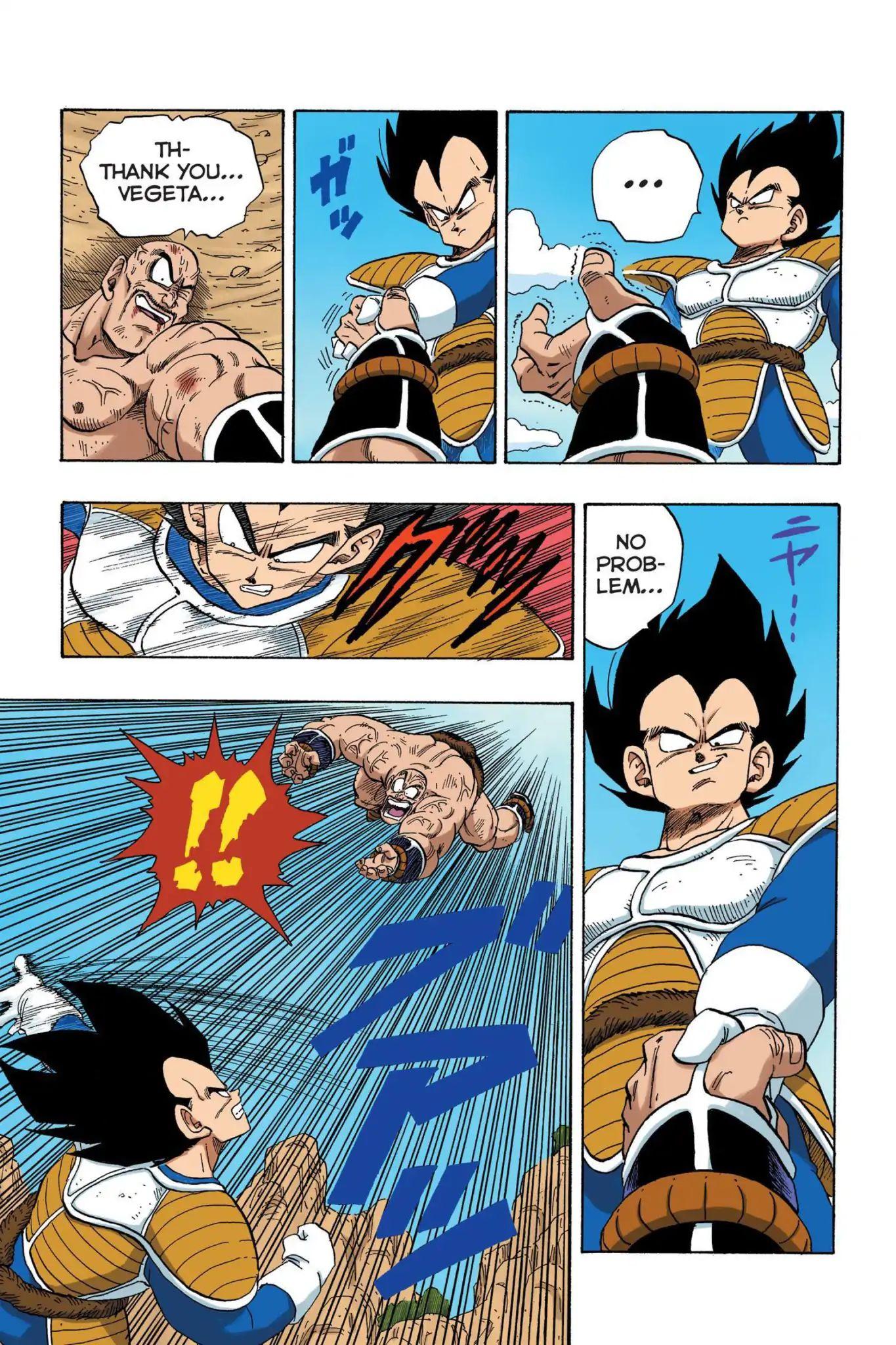 Dragon Ball Full Color Saiyan Arc Chapter 33  Online Free Manga Read Image 4