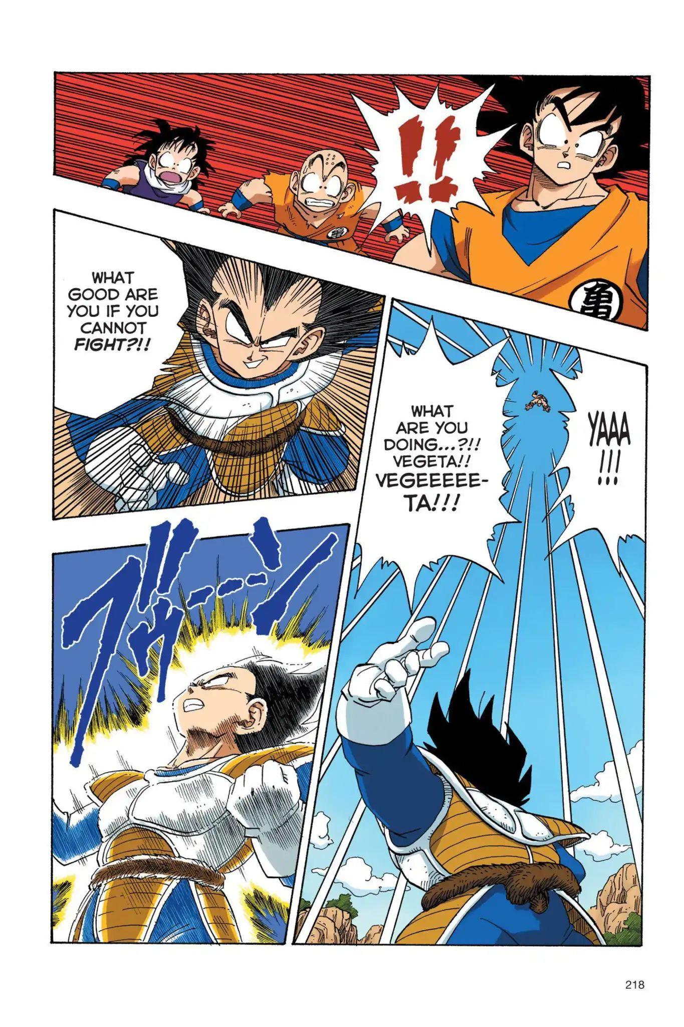 Dragon Ball Full Color Saiyan Arc Chapter 33  Online Free Manga Read Image 5