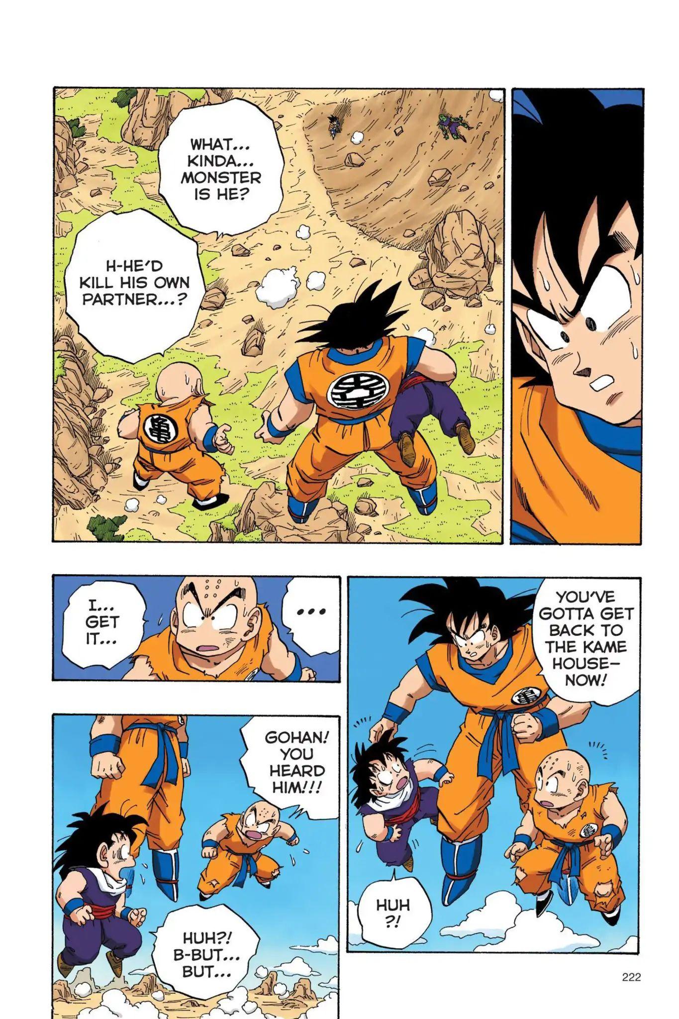 Dragon Ball Full Color Saiyan Arc Chapter 33  Online Free Manga Read Image 9