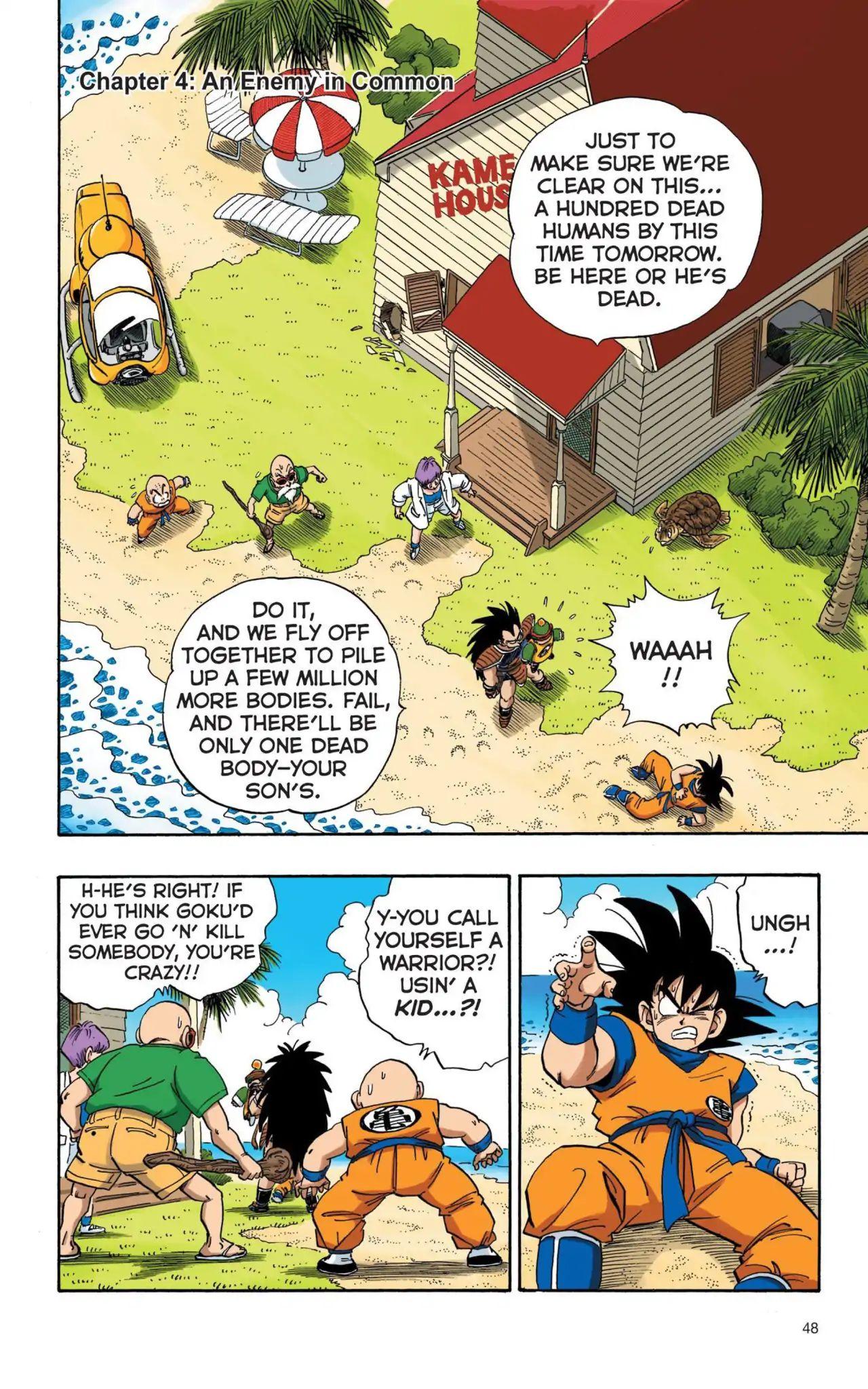 Dragon Ball Full Color Saiyan Arc Chapter 4  Online Free Manga Read Image 1