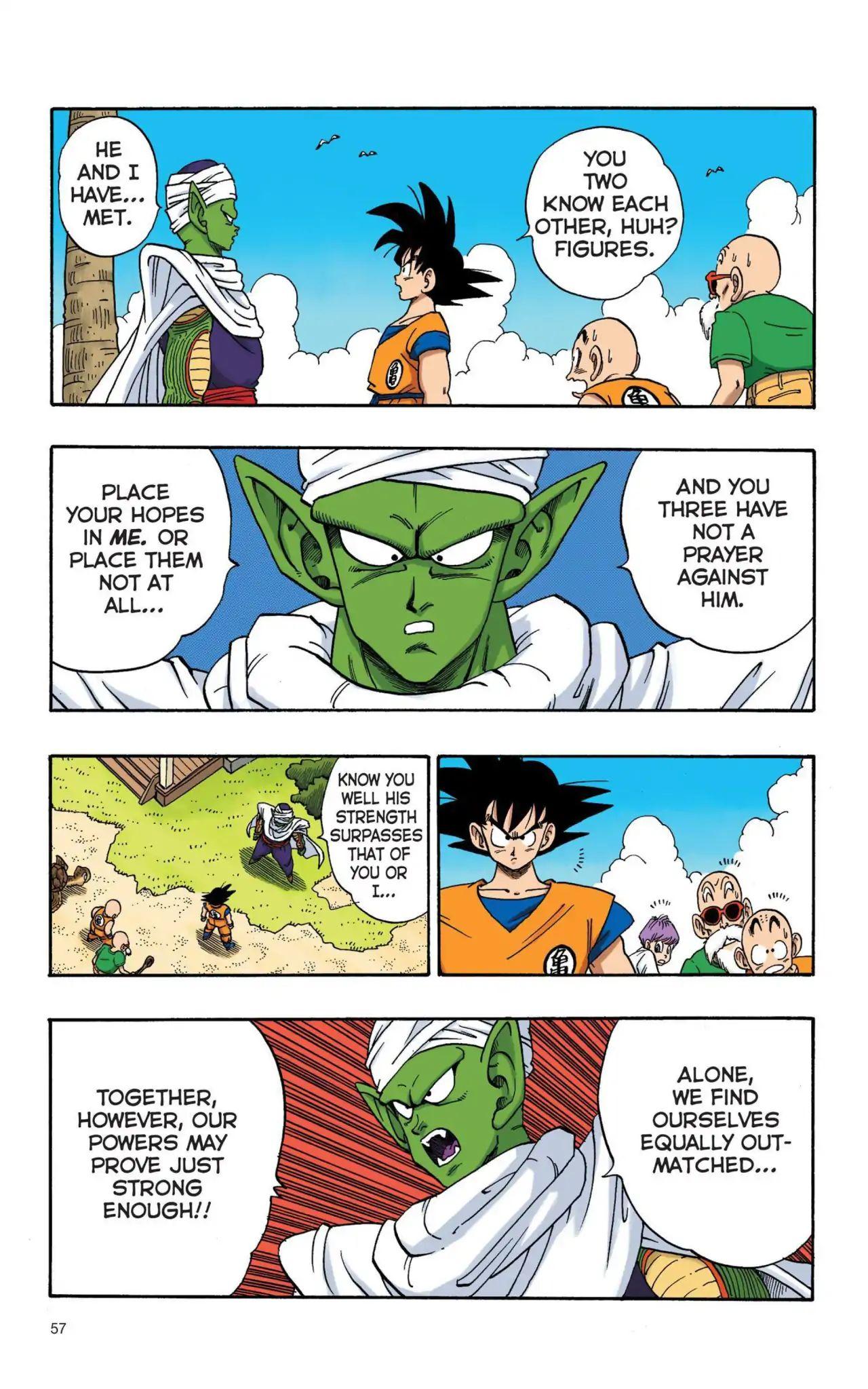 Dragon Ball Full Color Saiyan Arc Chapter 4  Online Free Manga Read Image 10