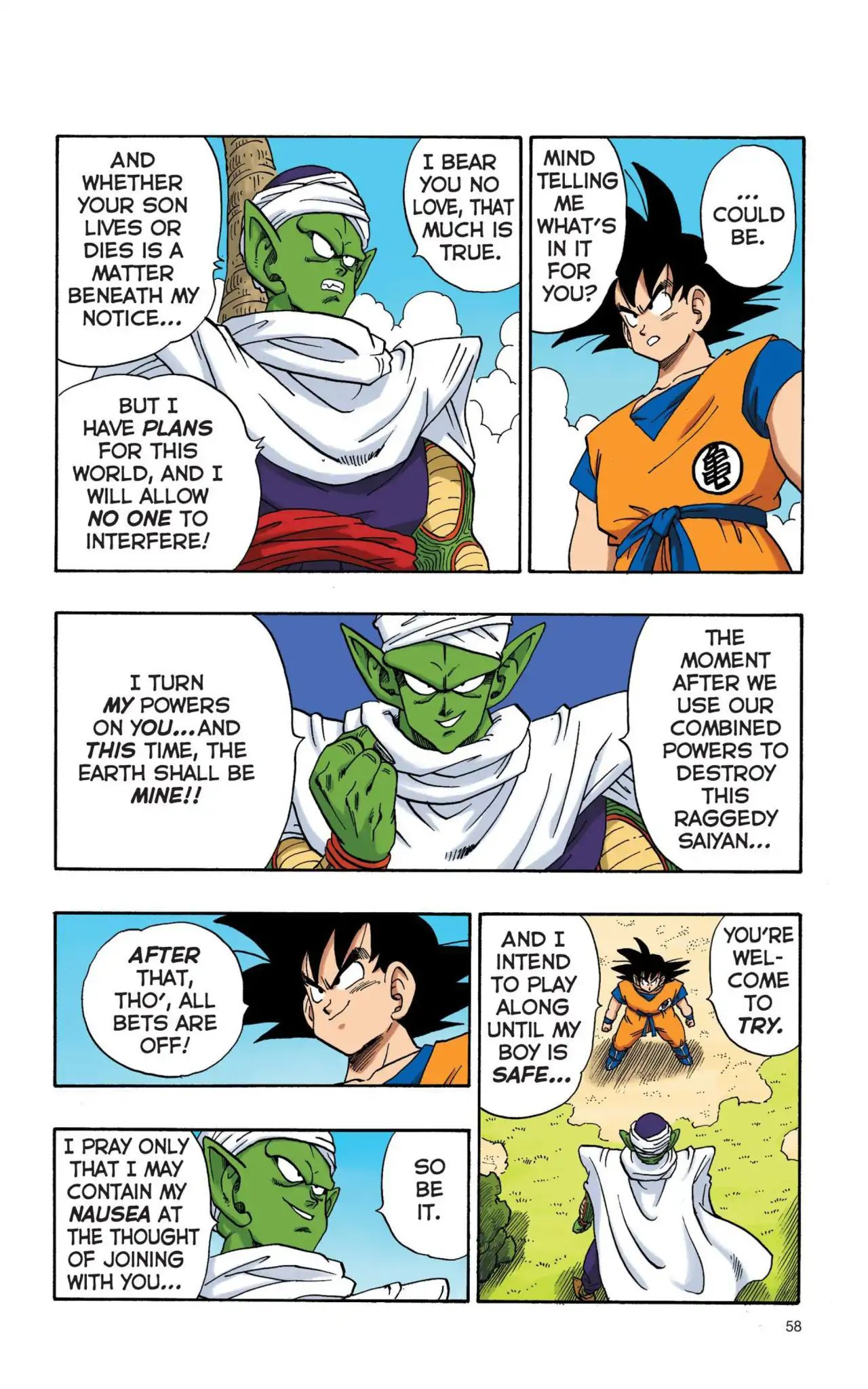 Dragon Ball Full Color Saiyan Arc Chapter 4  Online Free Manga Read Image 11