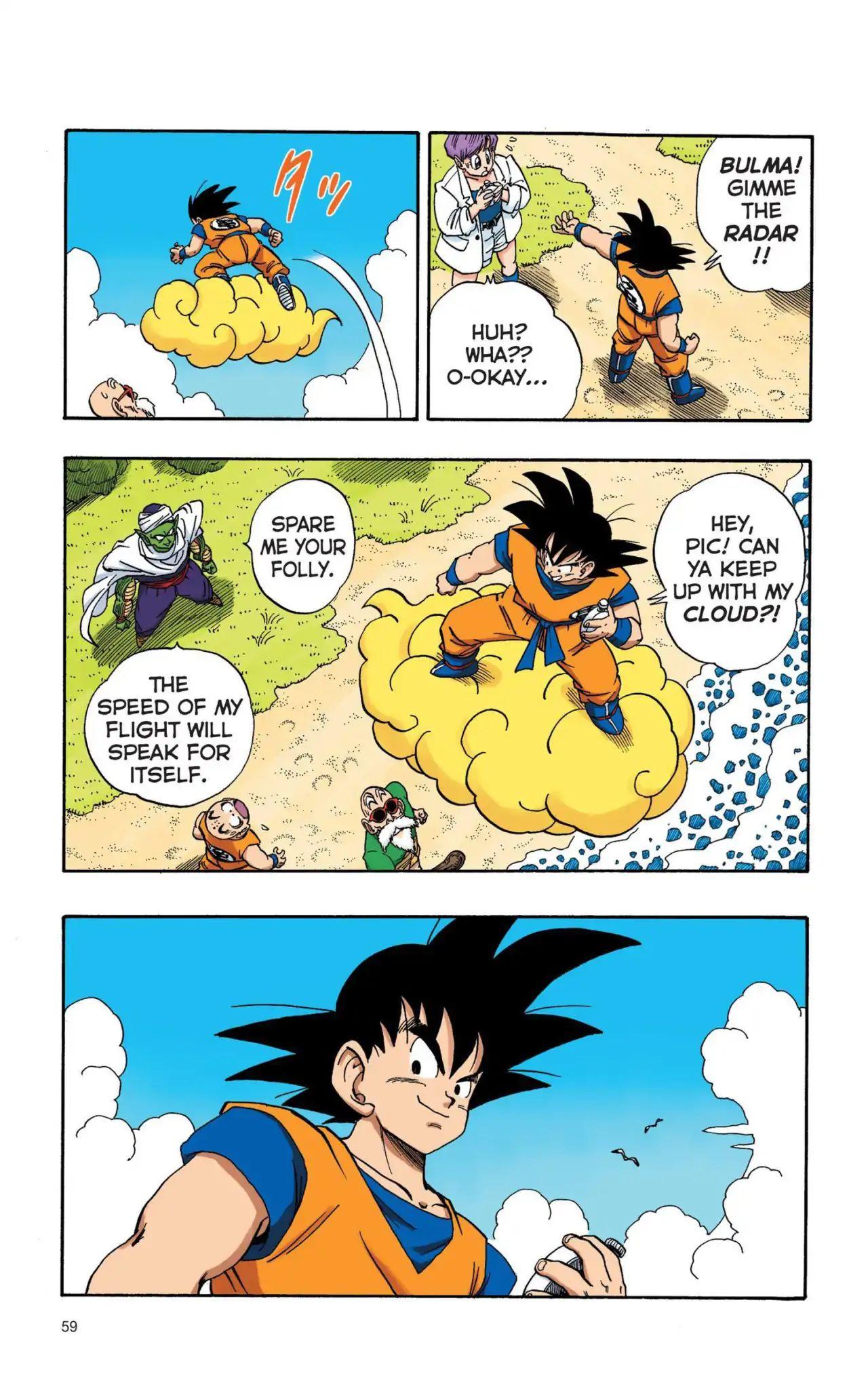 Dragon Ball Full Color Saiyan Arc Chapter 4  Online Free Manga Read Image 12