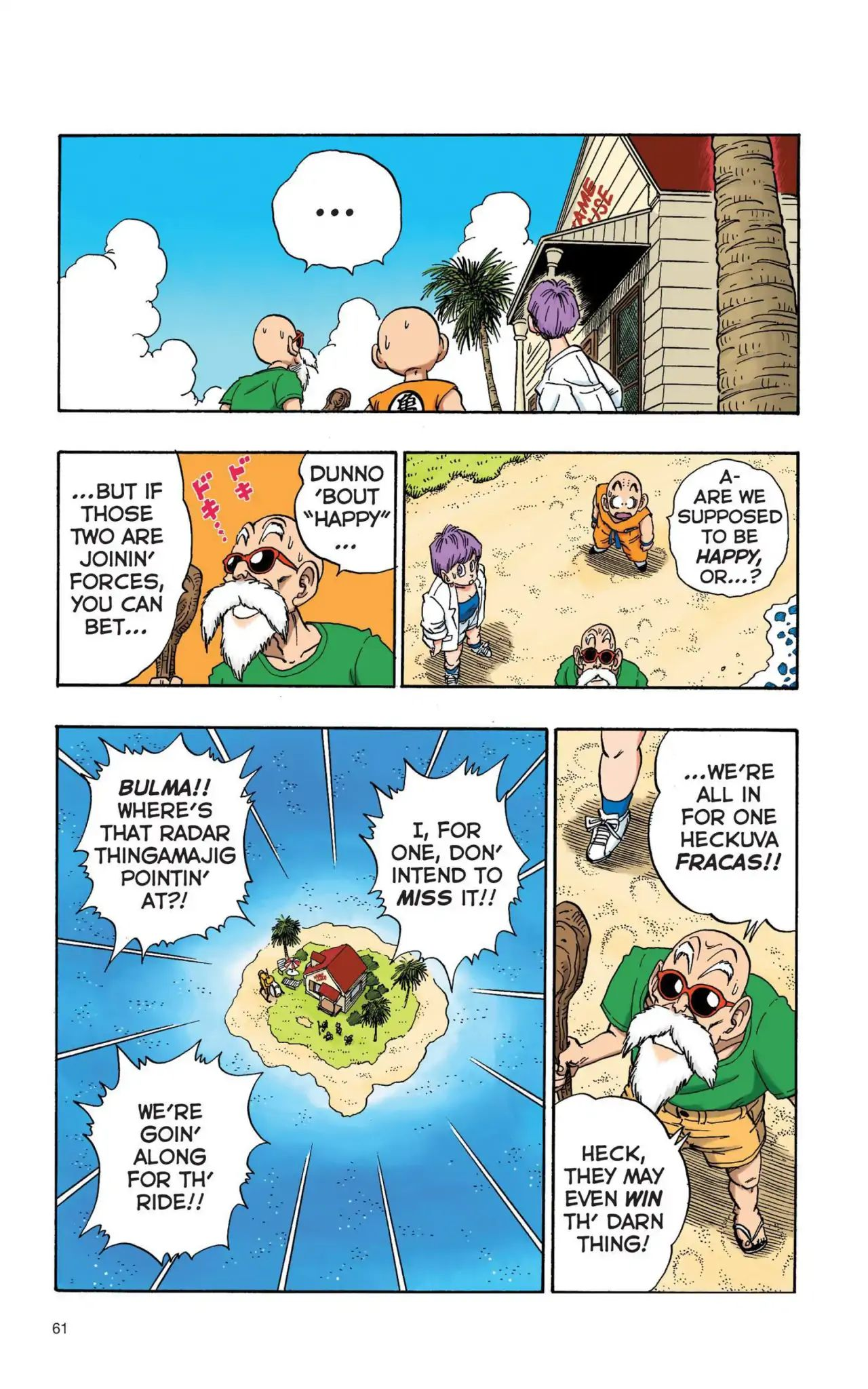 Dragon Ball Full Color Saiyan Arc Chapter 4  Online Free Manga Read Image 14
