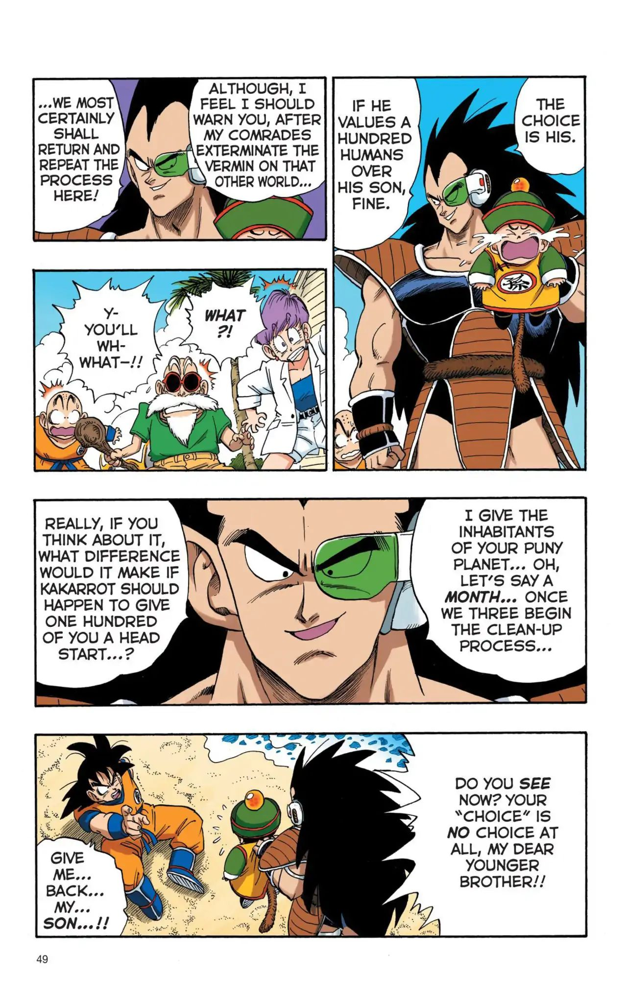 Dragon Ball Full Color Saiyan Arc Chapter 4  Online Free Manga Read Image 2
