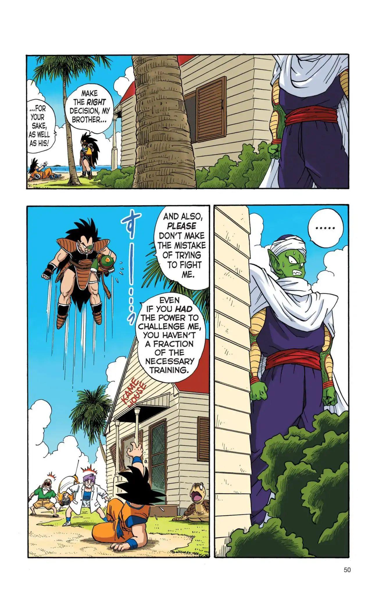 Dragon Ball Full Color Saiyan Arc Chapter 4  Online Free Manga Read Image 3