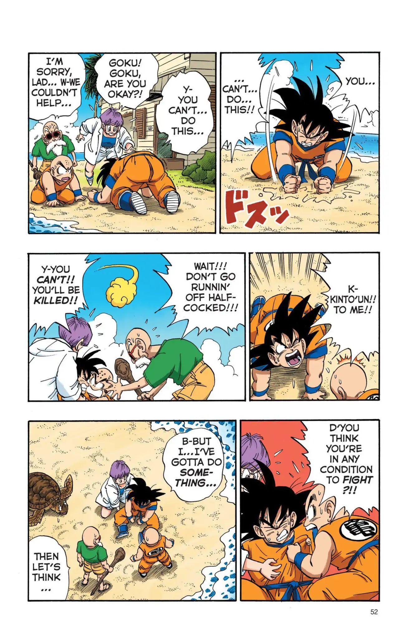 Dragon Ball Full Color Saiyan Arc Chapter 4  Online Free Manga Read Image 5