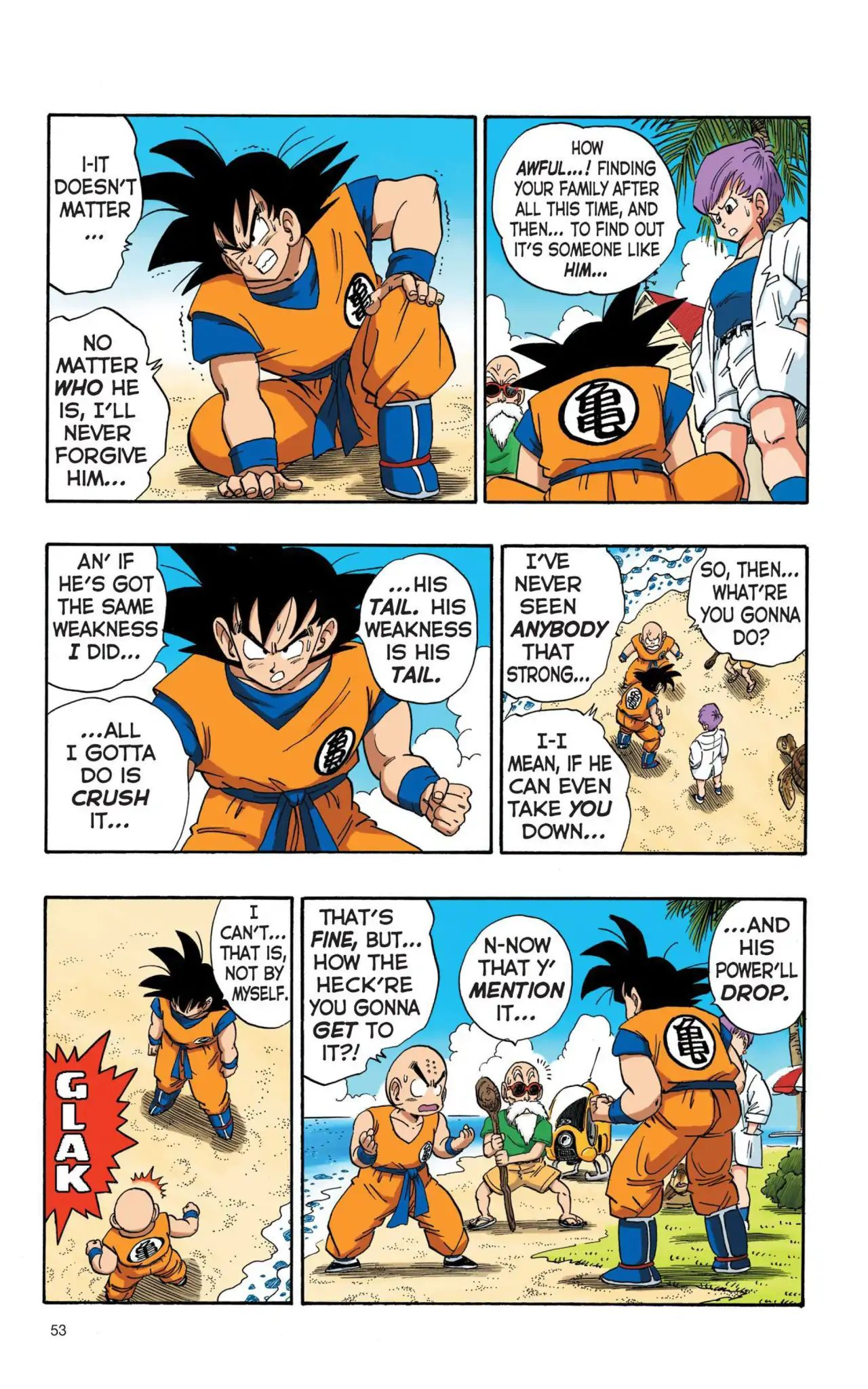 Dragon Ball Full Color Saiyan Arc Chapter 4  Online Free Manga Read Image 6