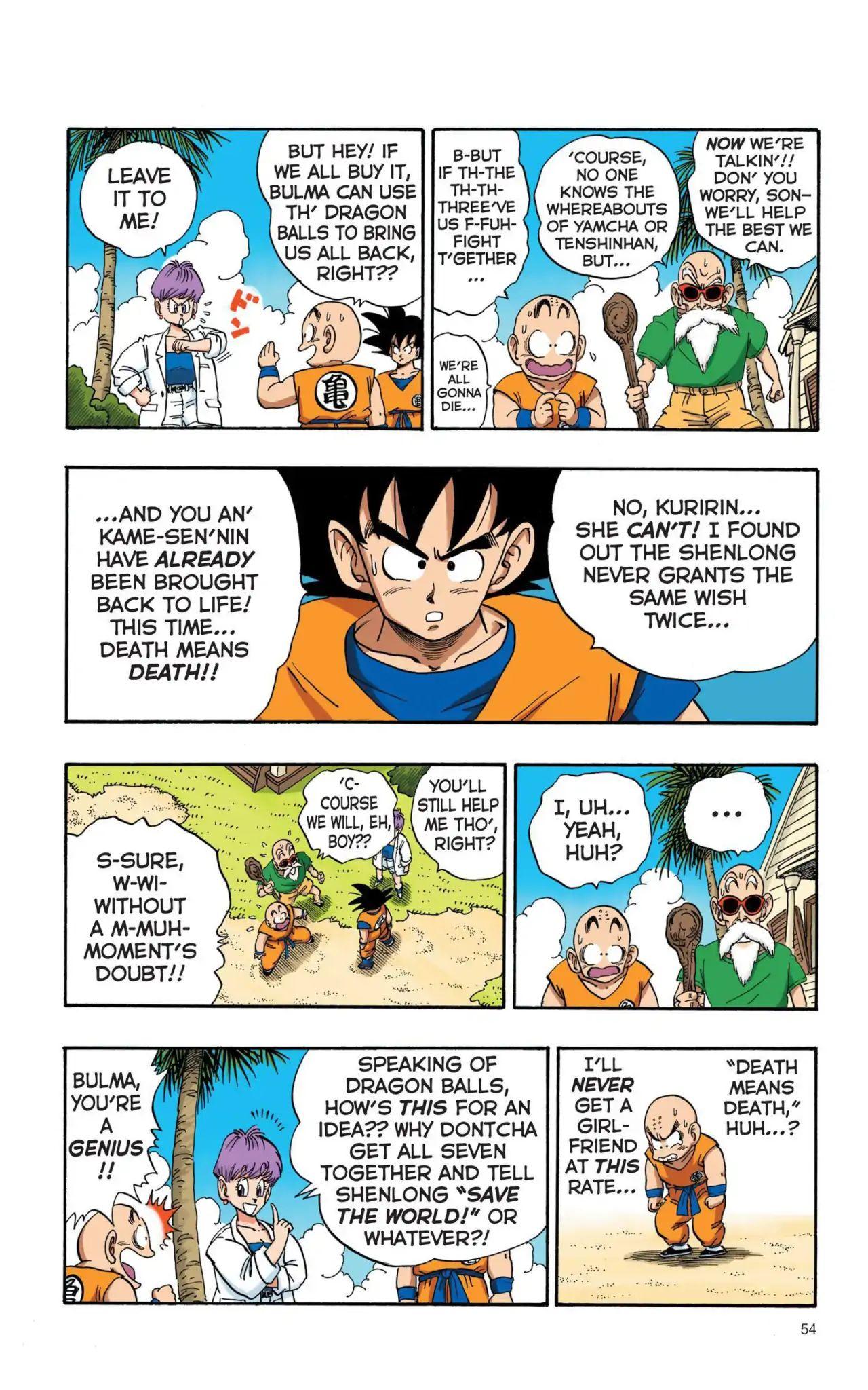 Dragon Ball Full Color Saiyan Arc Chapter 4  Online Free Manga Read Image 7