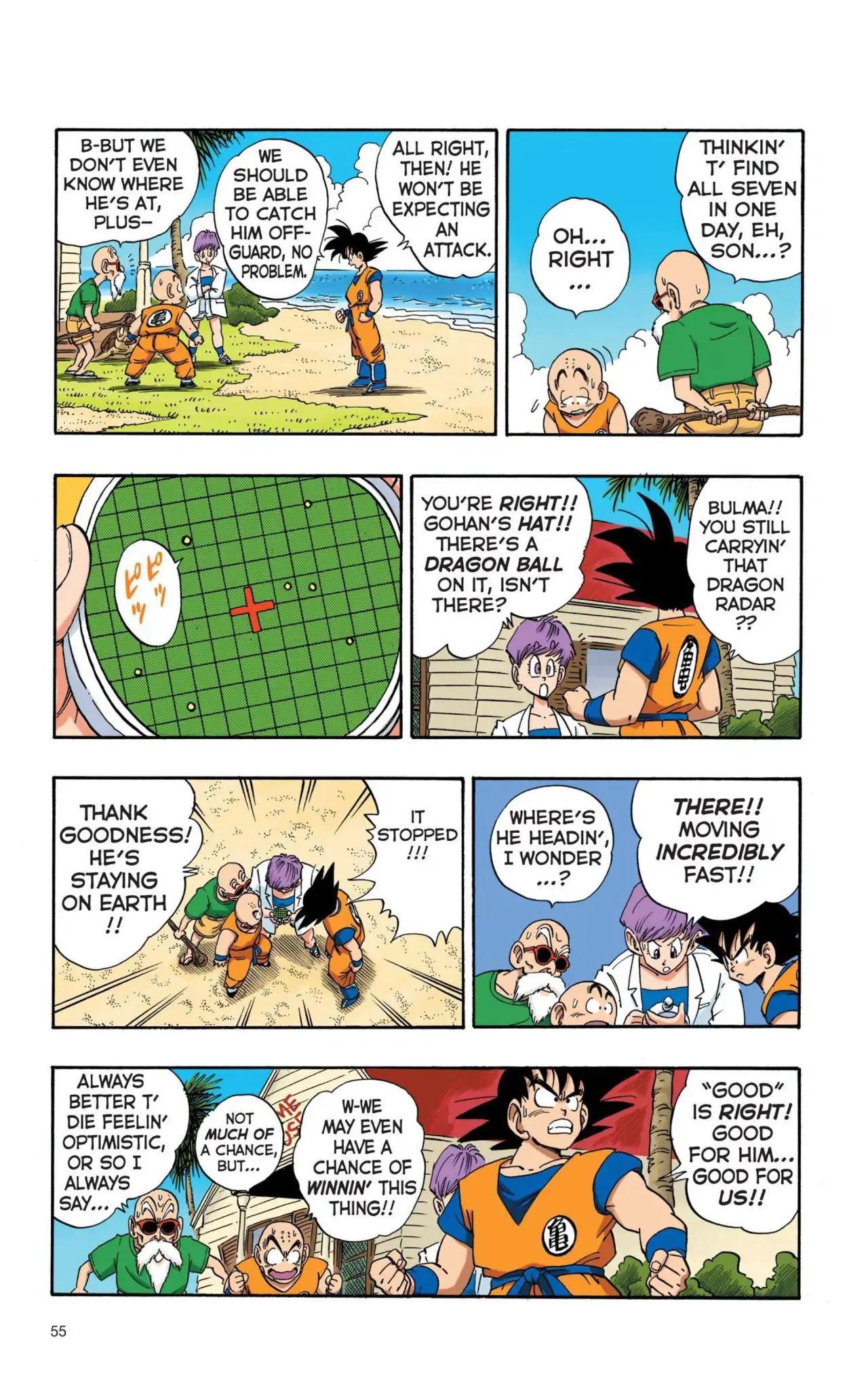 Dragon Ball Full Color Saiyan Arc Chapter 4  Online Free Manga Read Image 8