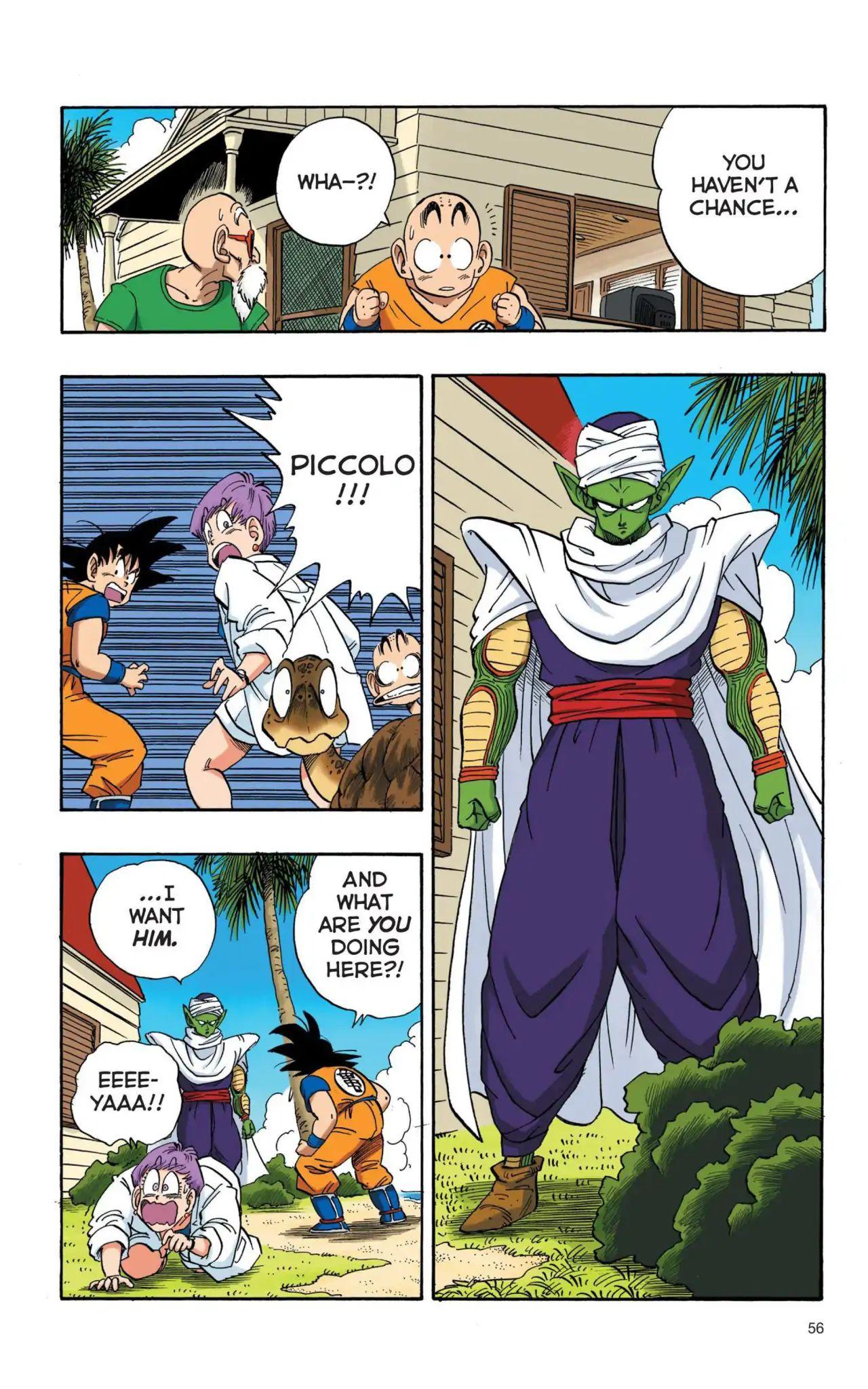 Dragon Ball Full Color Saiyan Arc Chapter 4  Online Free Manga Read Image 9